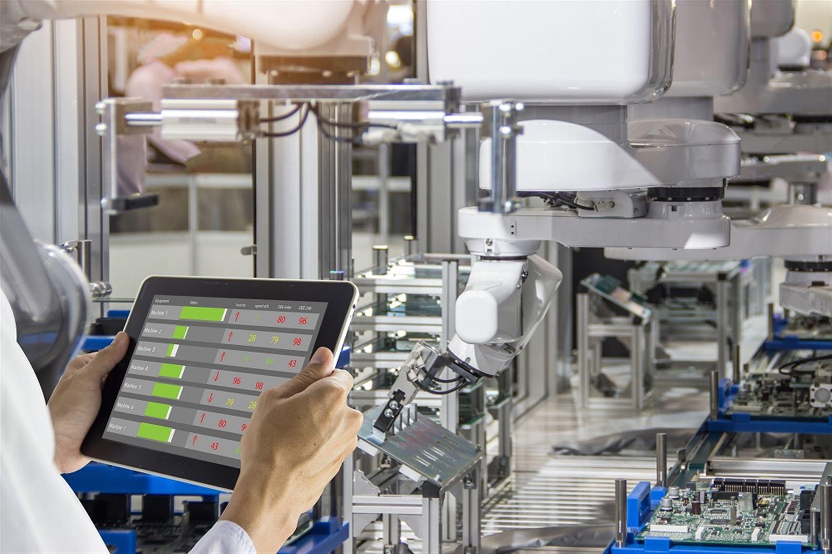 Zuverlässige Produktionsinstandhaltung - Smart Condition Monitoring