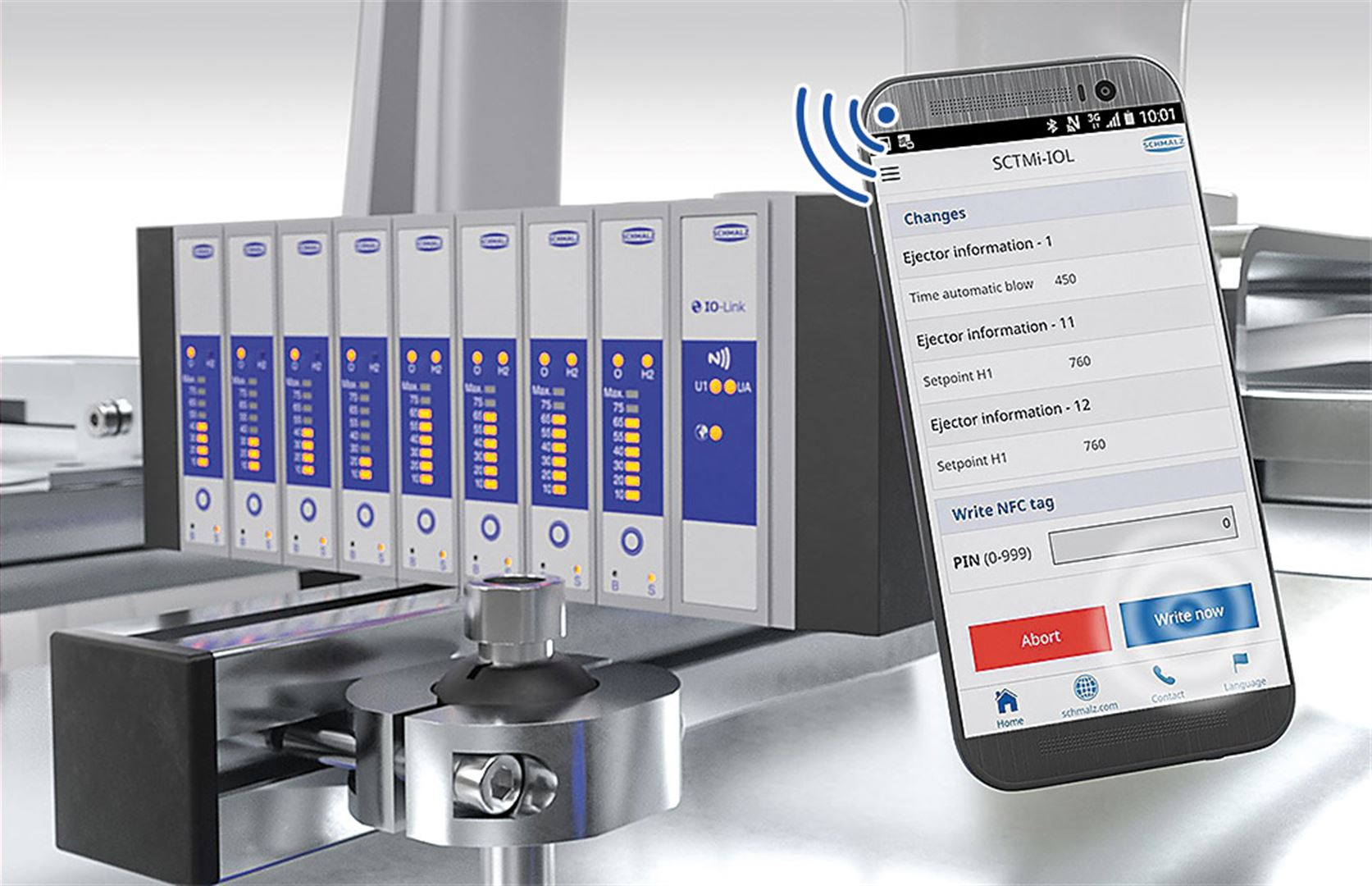 Compact Terminal SCTSi Ethernet - Voll vernetzte und flexible Vakuum-Erzeugung