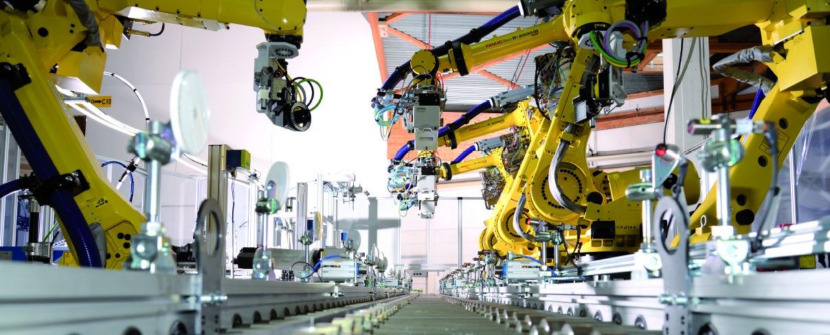 Robotergesamtsysteme: Produktionsprozesse effizient und flexibel gestalten - Industrie 4.0 für kleine und mittlere Unternehmen