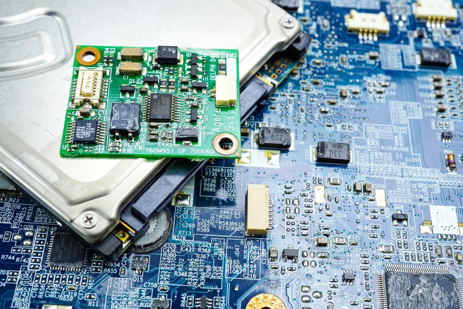 Reparatur von elektrischen Komponenten, inklusive Garantie