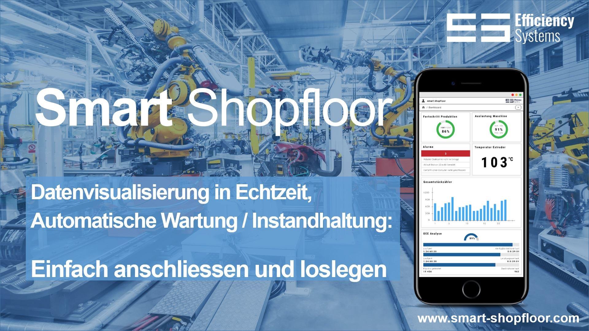Responsive. Nutzen Sie Smart Shopfloor auf allen Endgeräten ganz einfach über den Browser.
