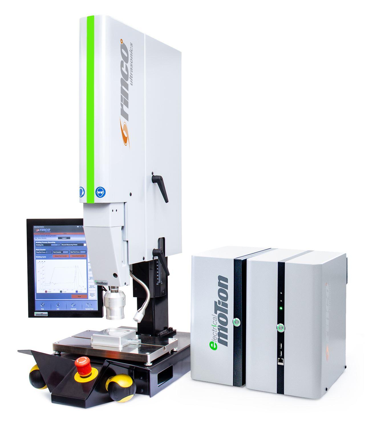 Electrical Motion 35 – Die High End Ultraschall-Schweissmaschine für lückenlose Rückverfolgbarkeit