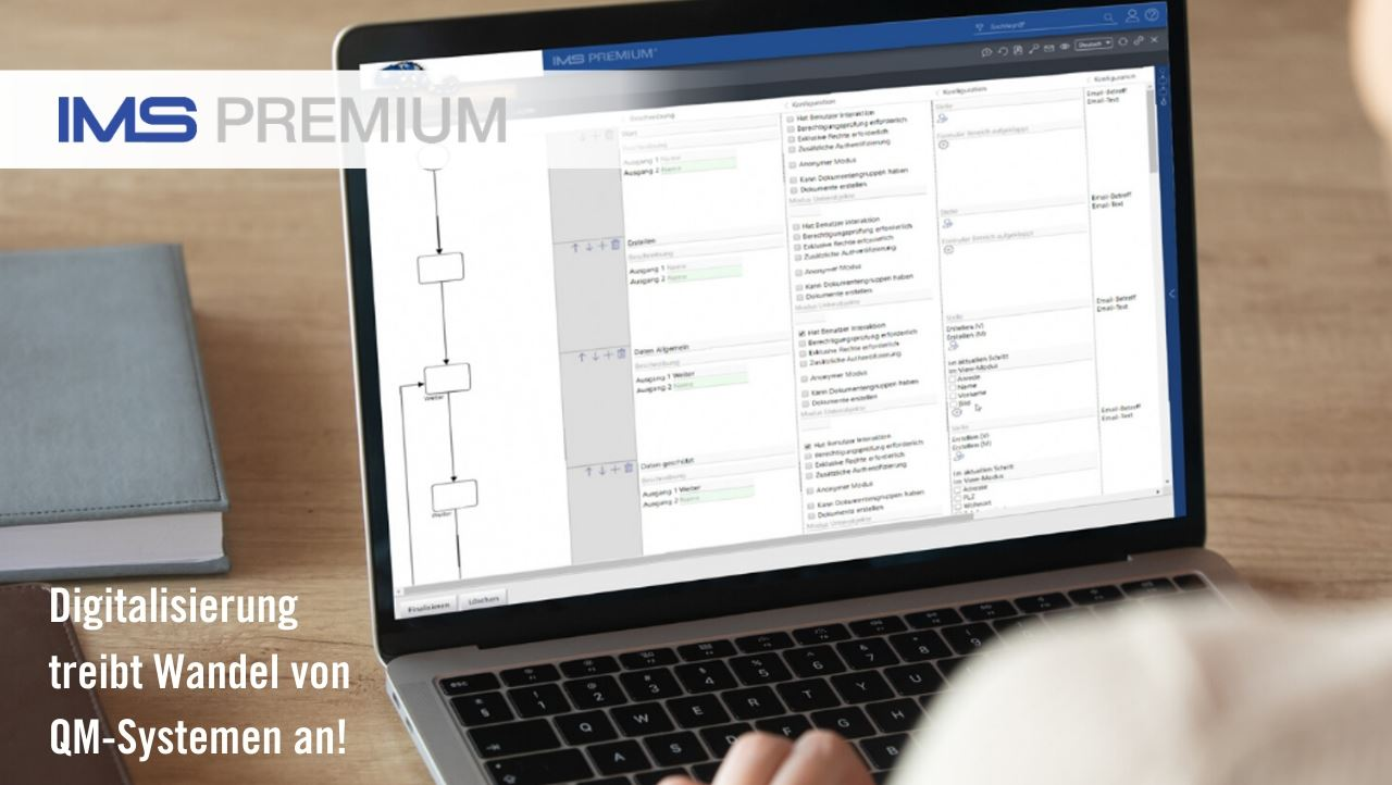 IMS PREMIUM – breaking system boundaries for a fully digital management system
