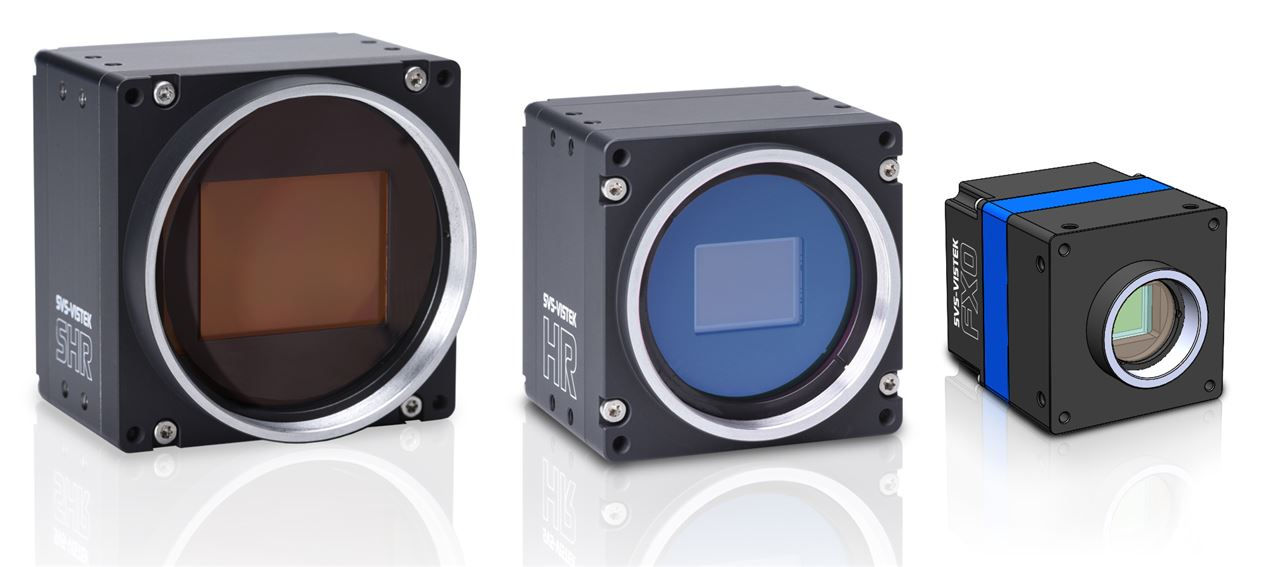 Breathtaking image quality with new industrial cameras