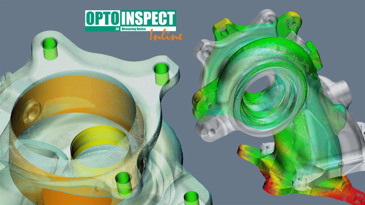 OptoInspect3D Inline – Schnelle, automatisierte und inlinefähige Auswertung von Punktwolken