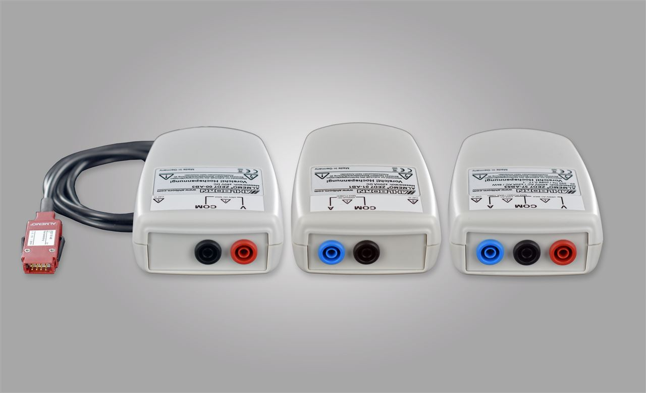 Fast, digital measurement modules for DC voltage, DC current and DC power