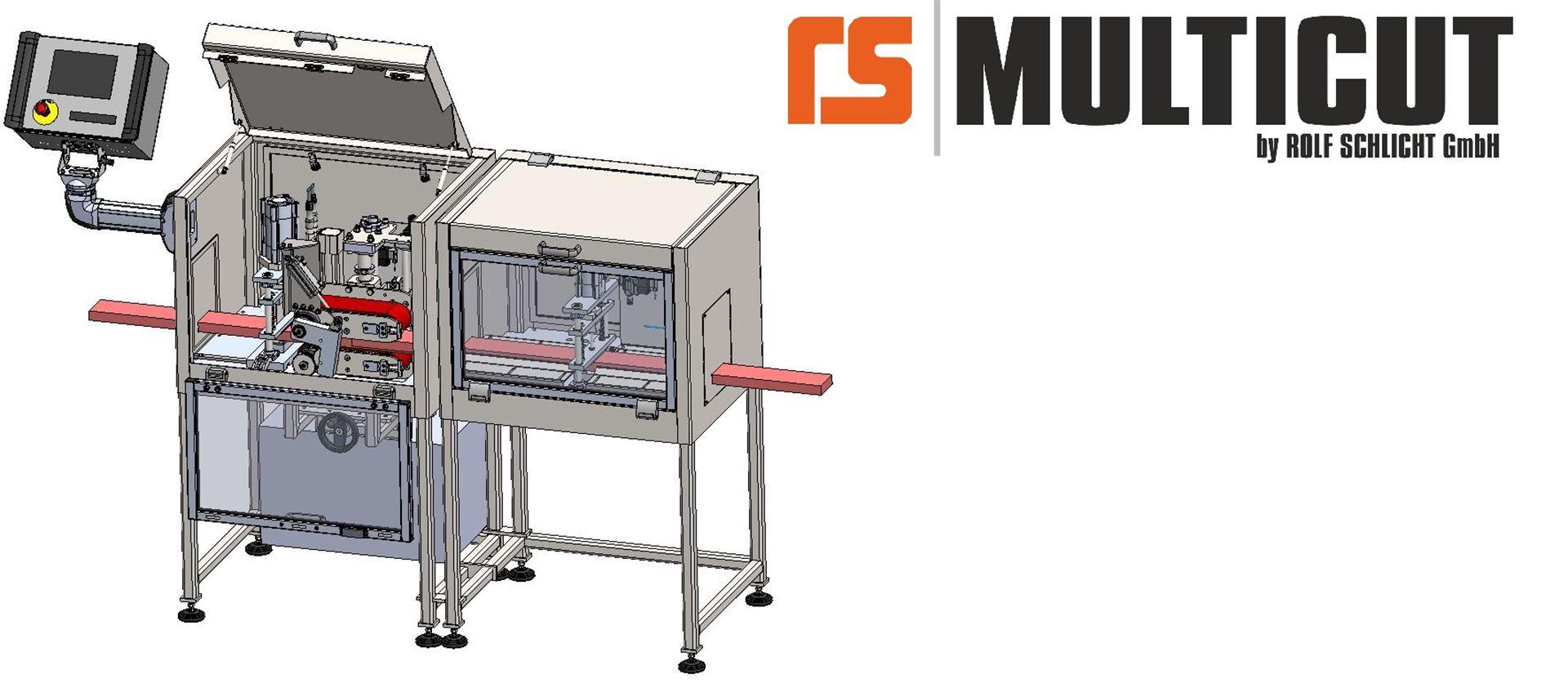 ROLF SCHLICHT GmbH - RS MULTICUT Schneidmaschinen - Typ MCS Modulares Schneidsystem
