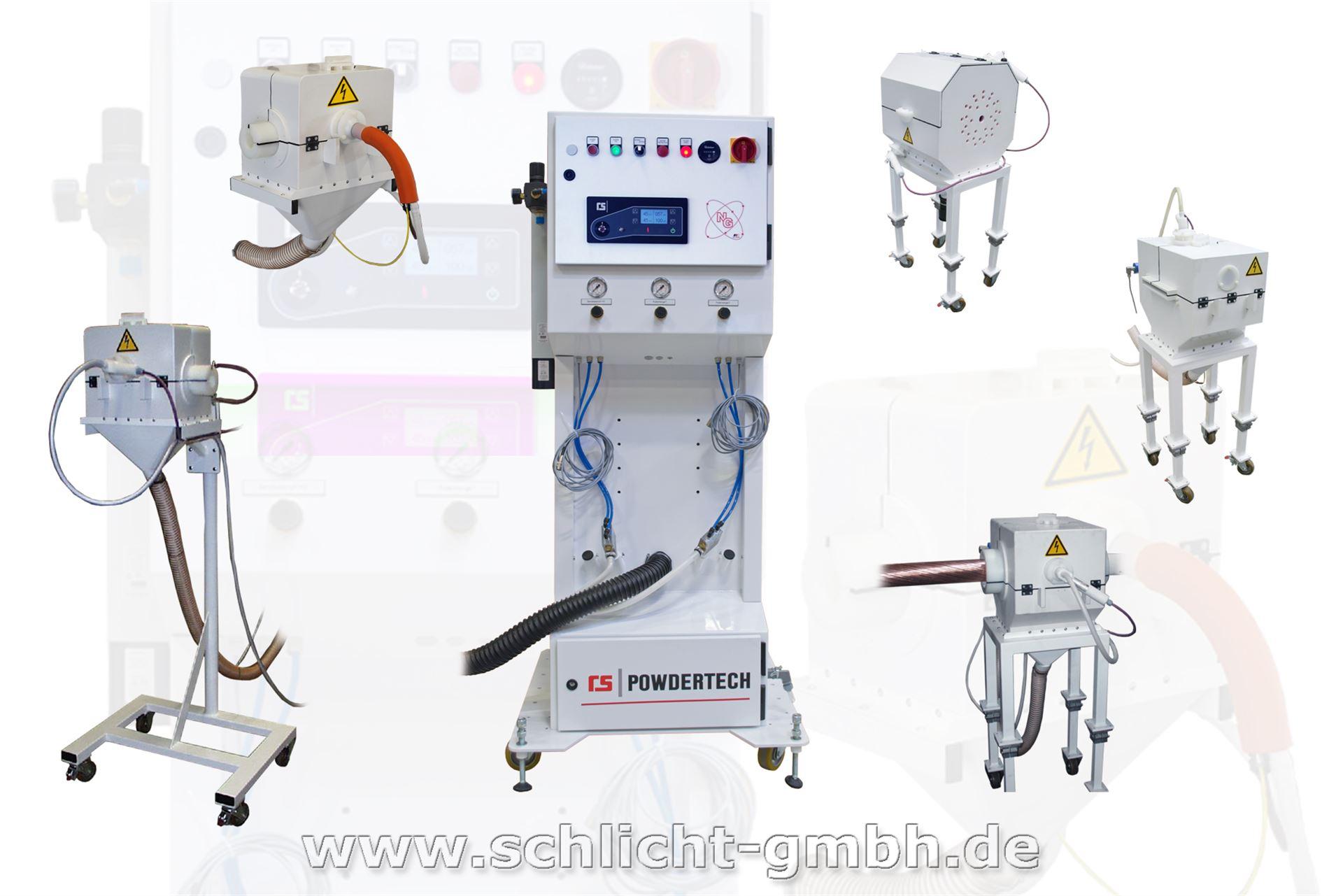 ROLF SCHLICHT GmbH - RS POWDERTECH Bepuderungsmaschine - Typ RSC NG