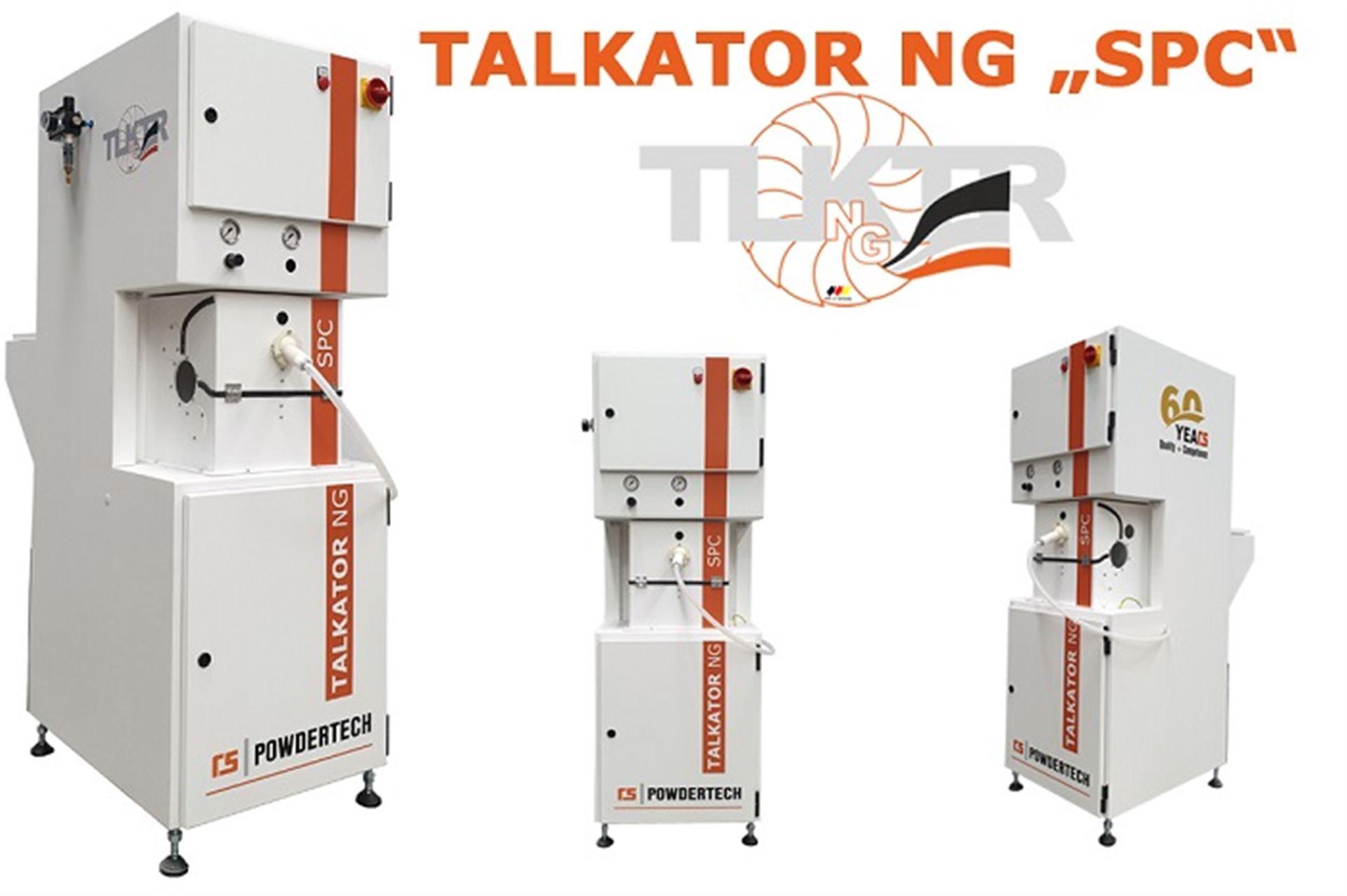 ROLF SCHLICHT GmbH - RS POWDERTECH Bepuderungsmaschine - Typ TALKATOR NG SPC +  DR