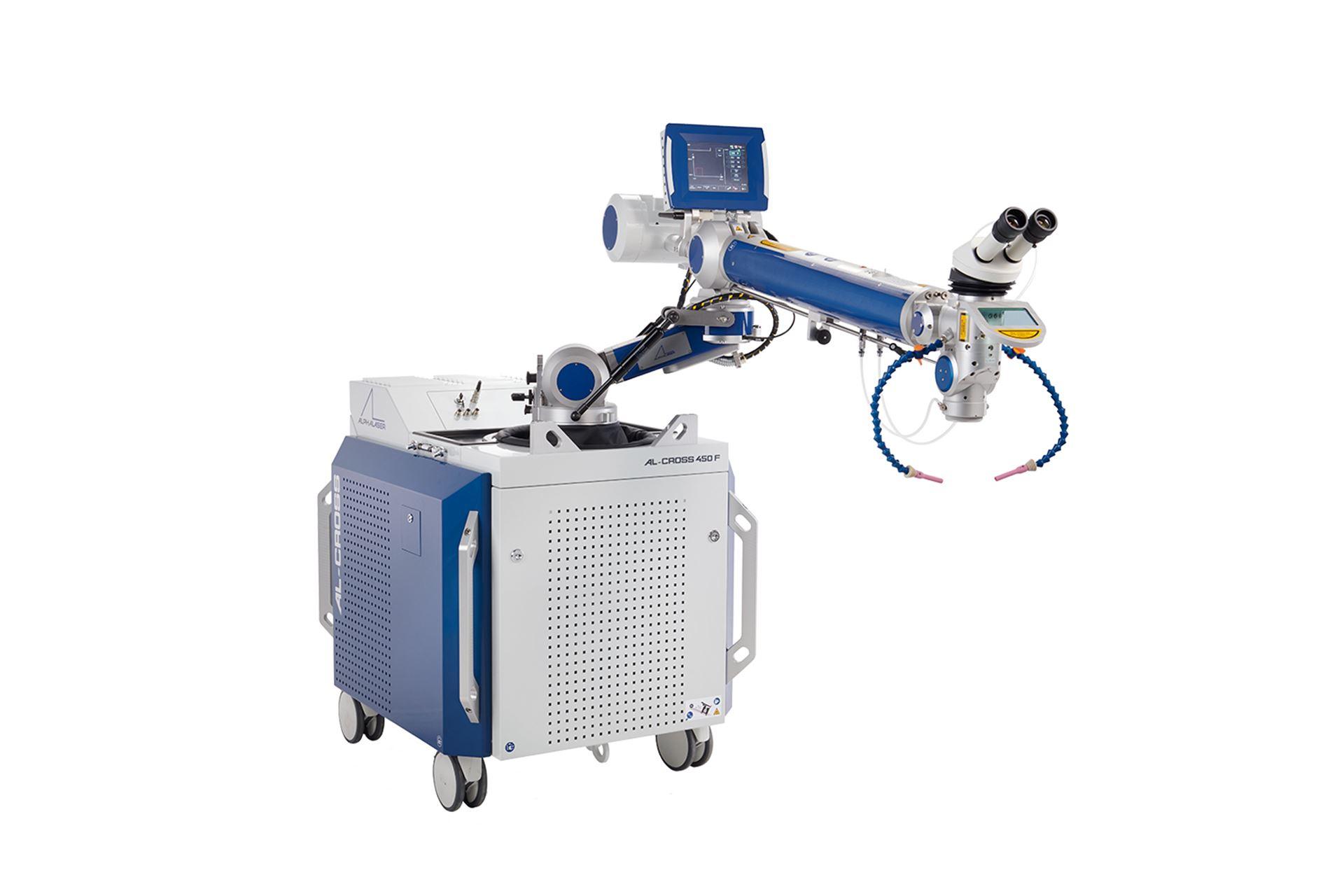 AL-CROSS mobile fiber laser for precision welding