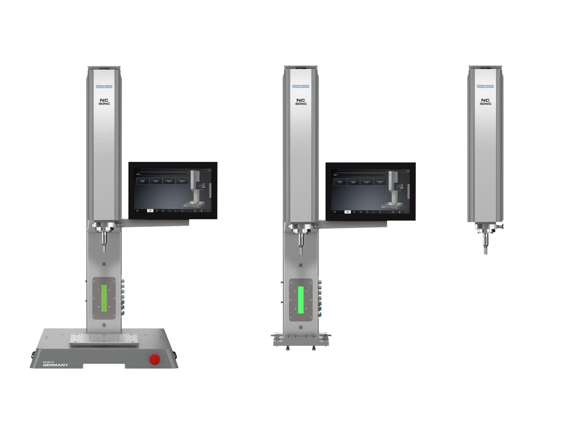 NC iSONIC: Ultraschall-Schweißmaschine mit Servoantrieb und offenem Steuerungskonzept