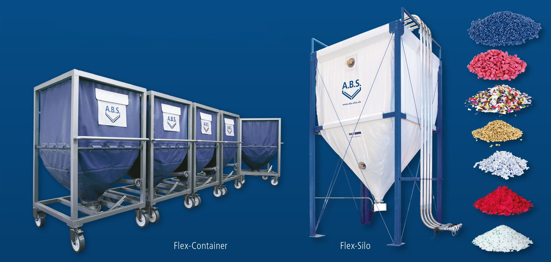 Flex silos are in demand where bulk materials have to be stored quickly, efficiently and safely