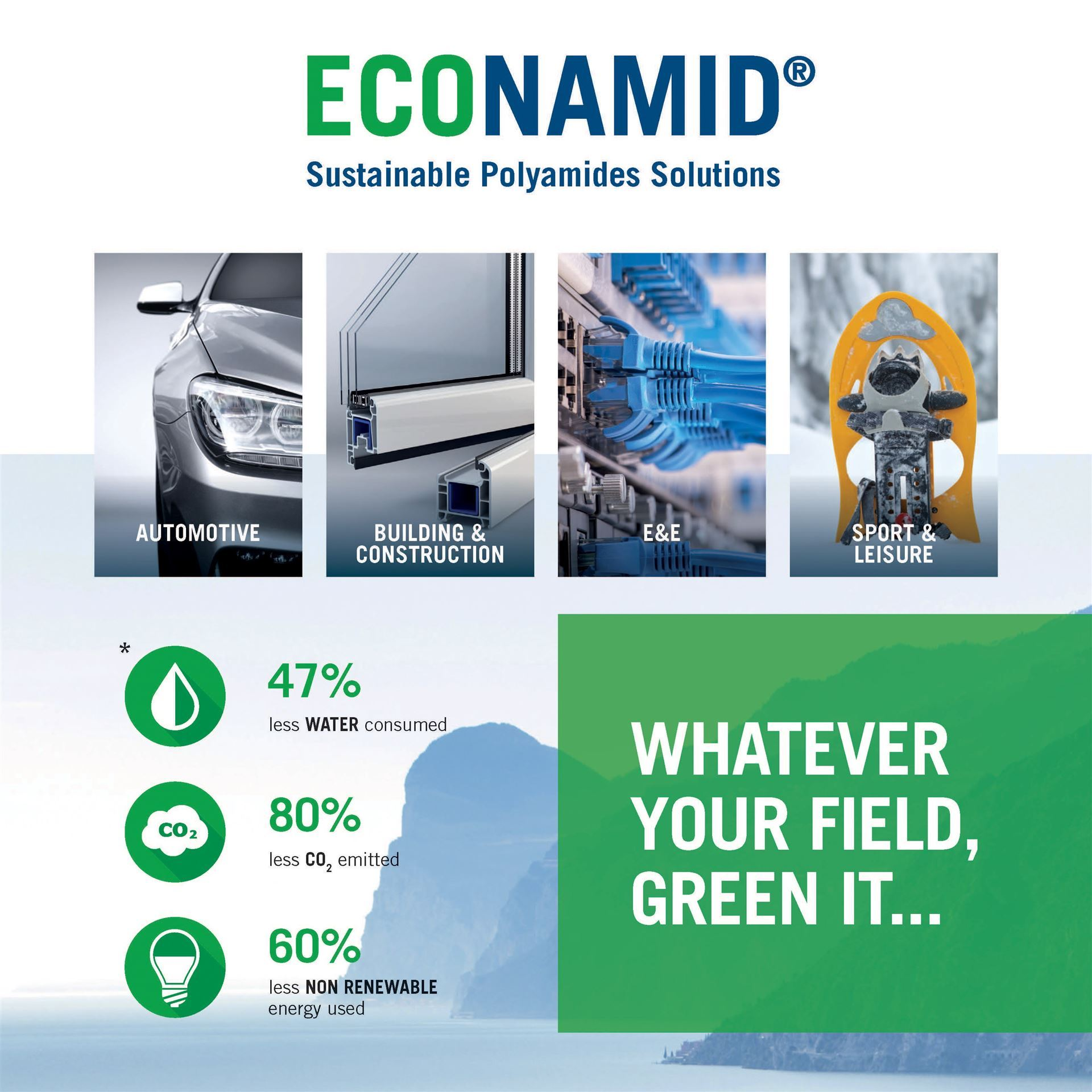 WIS Kunststoffe GmbH is responding to the market with environmentally friendly polyamide!