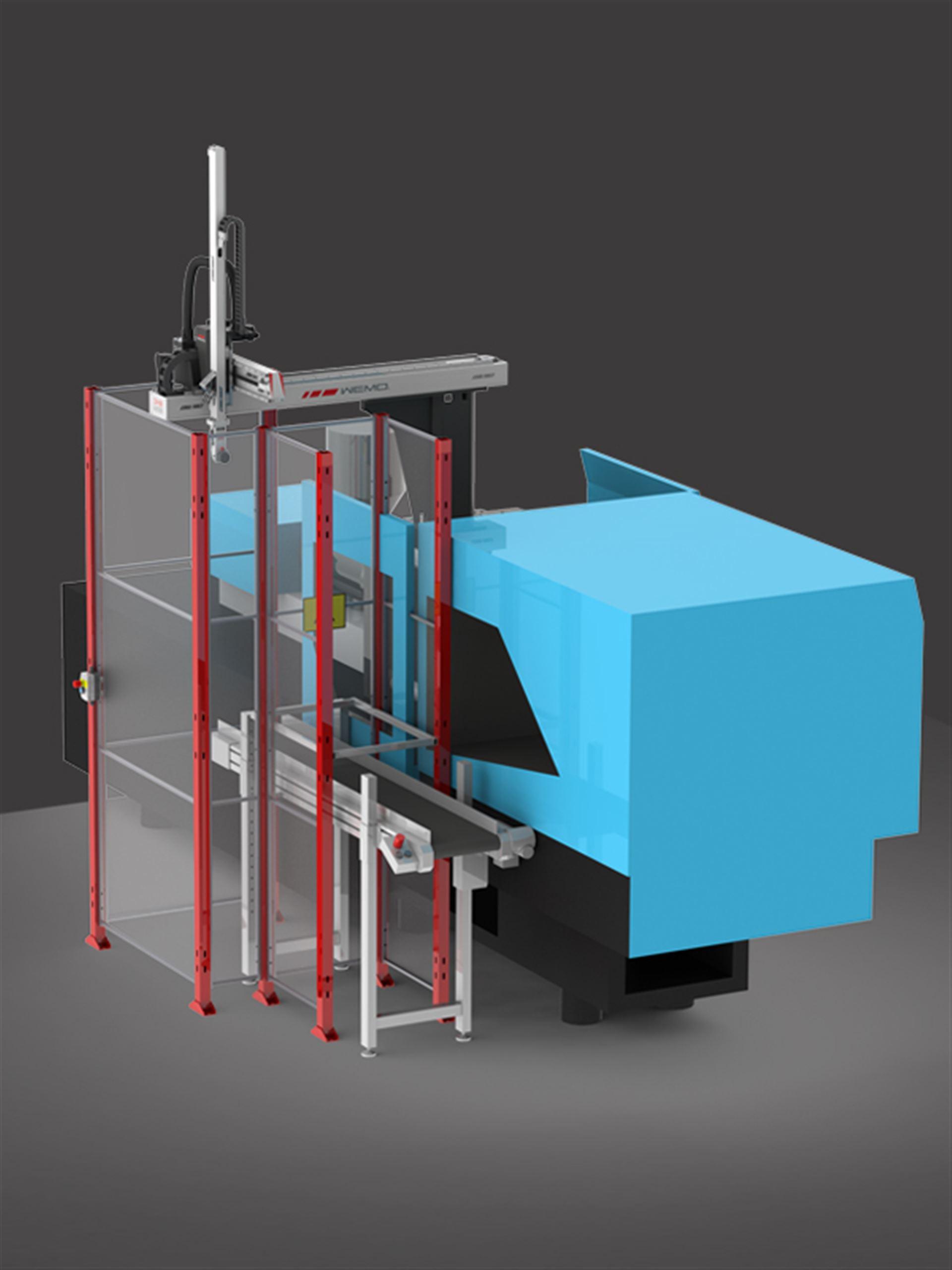 3-5 Linear Picker für die Kleinteilentnahme konventionell auf der SGM