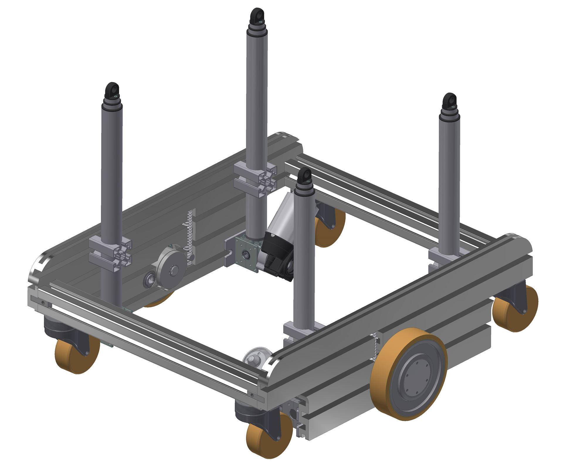 Ket-Rob - Drive platform for AGV