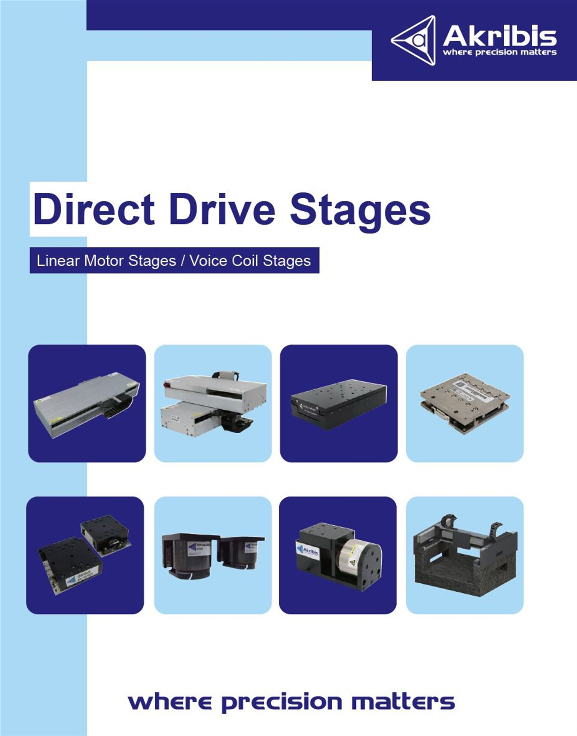 Linear Motor Stages with short lead time