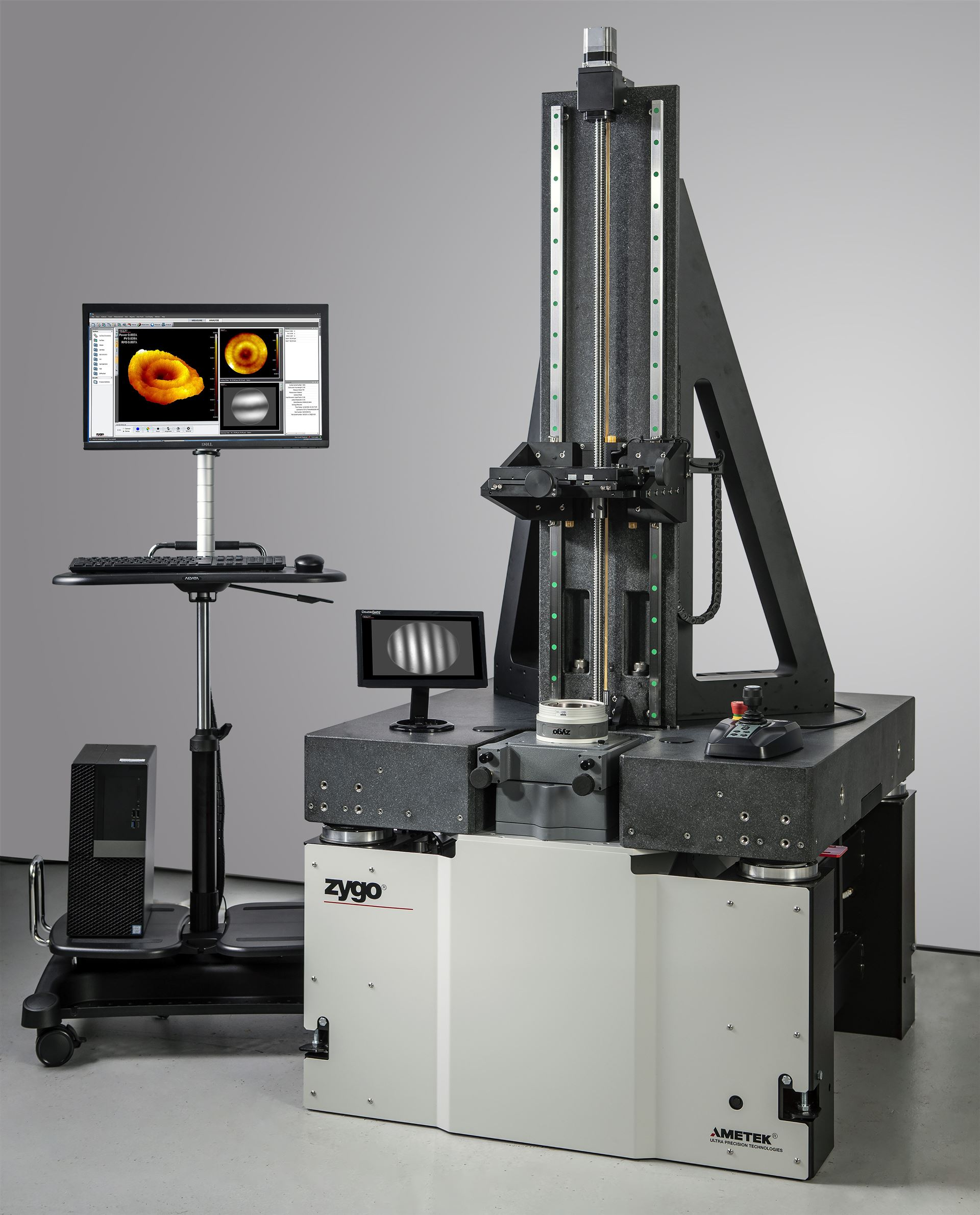 Verifire™ VTS Vertical Test Station - vertikales Werkstattinterferometer für Sphären-Messung