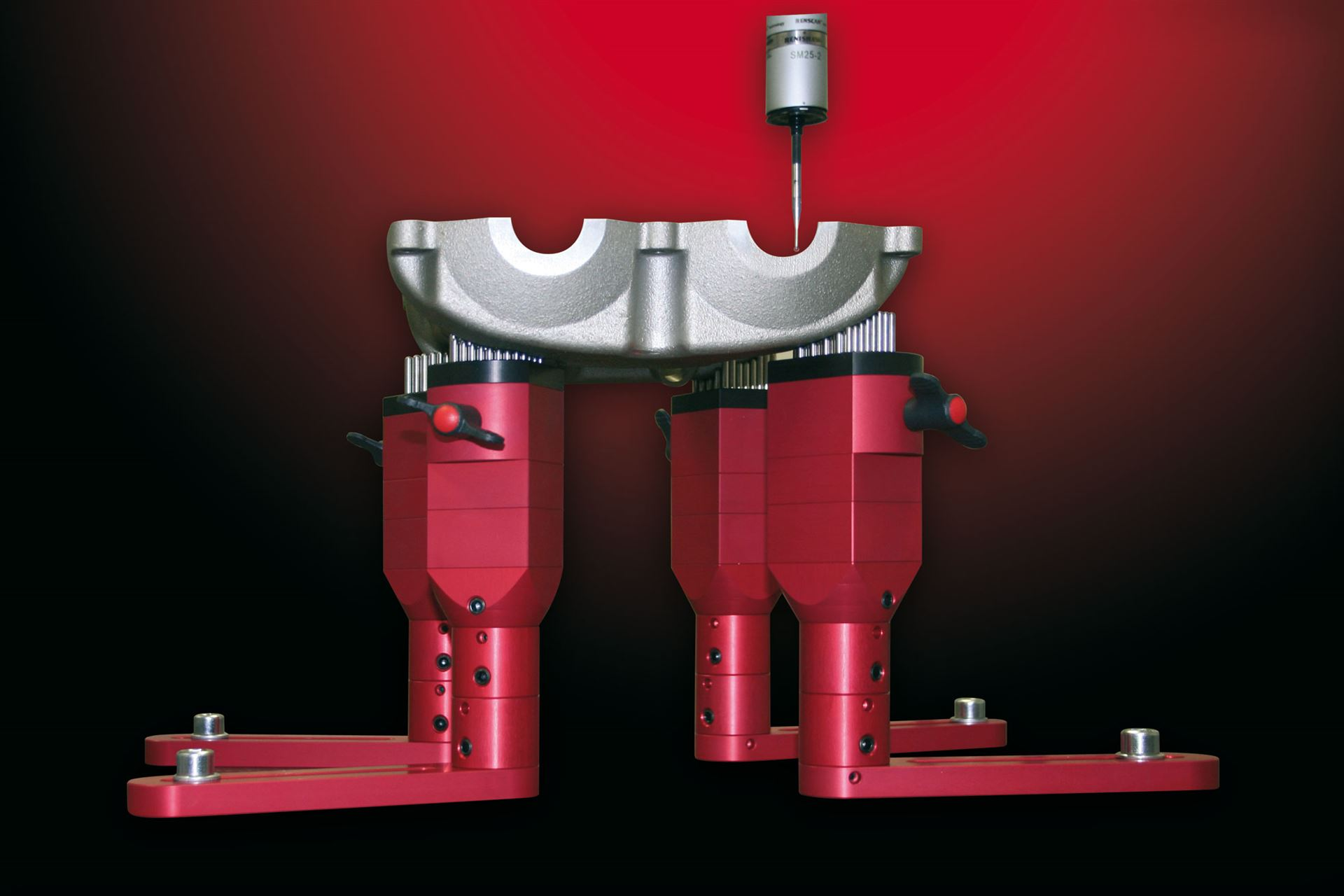 pintec modular clamping system in use