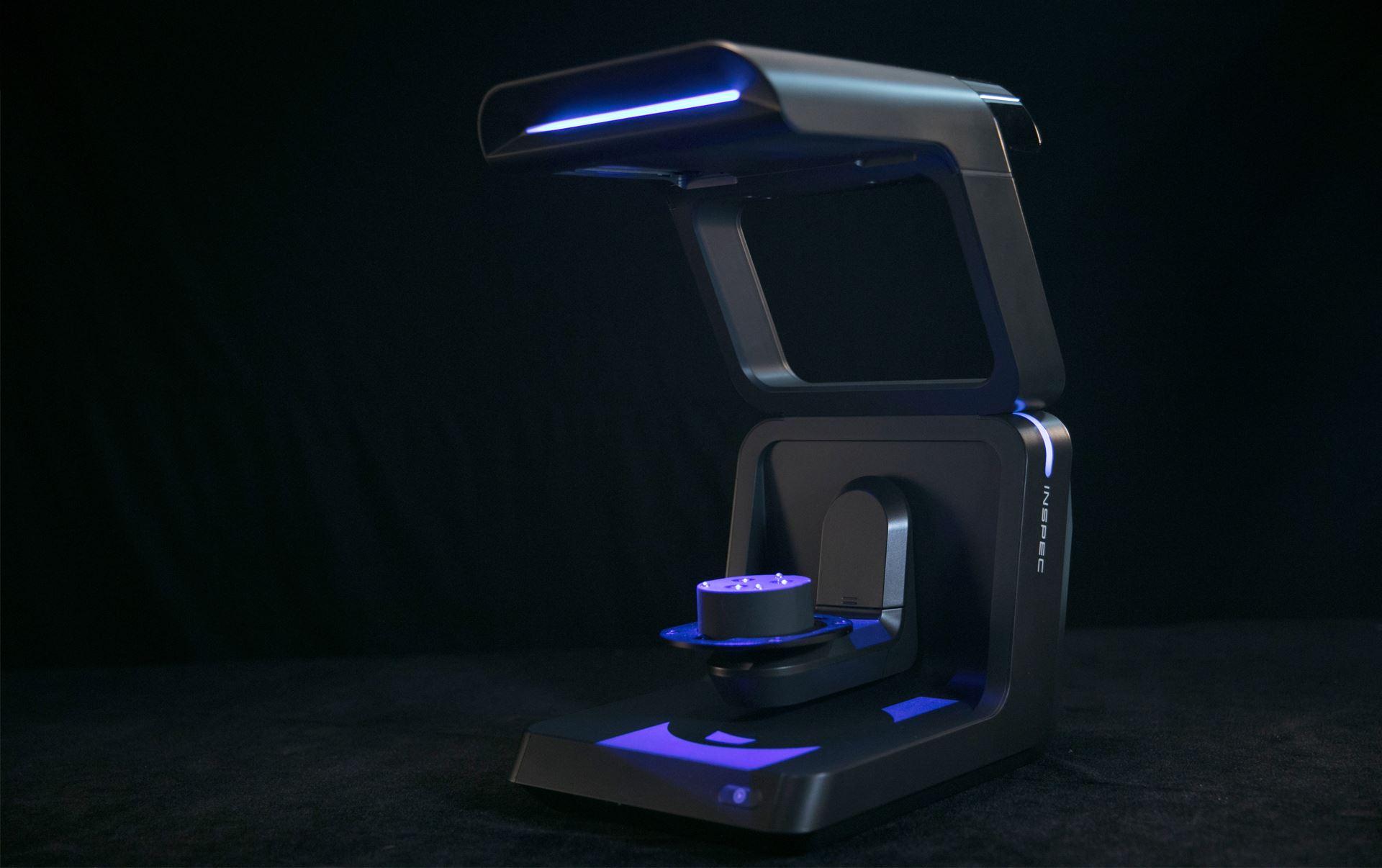 AutoScan Inspec - Automatic Desktop 3D Inspection Scanner