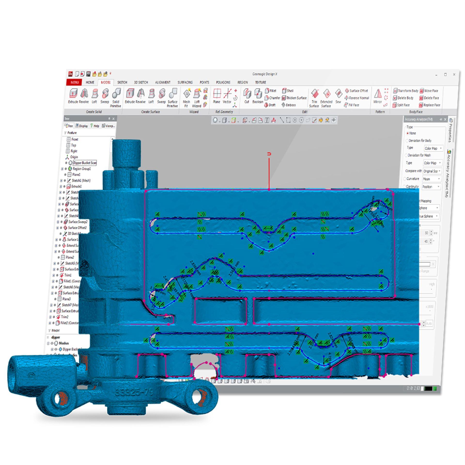 Auf kürzestem Weg von der Erfassung zur CAD-Anwendung
