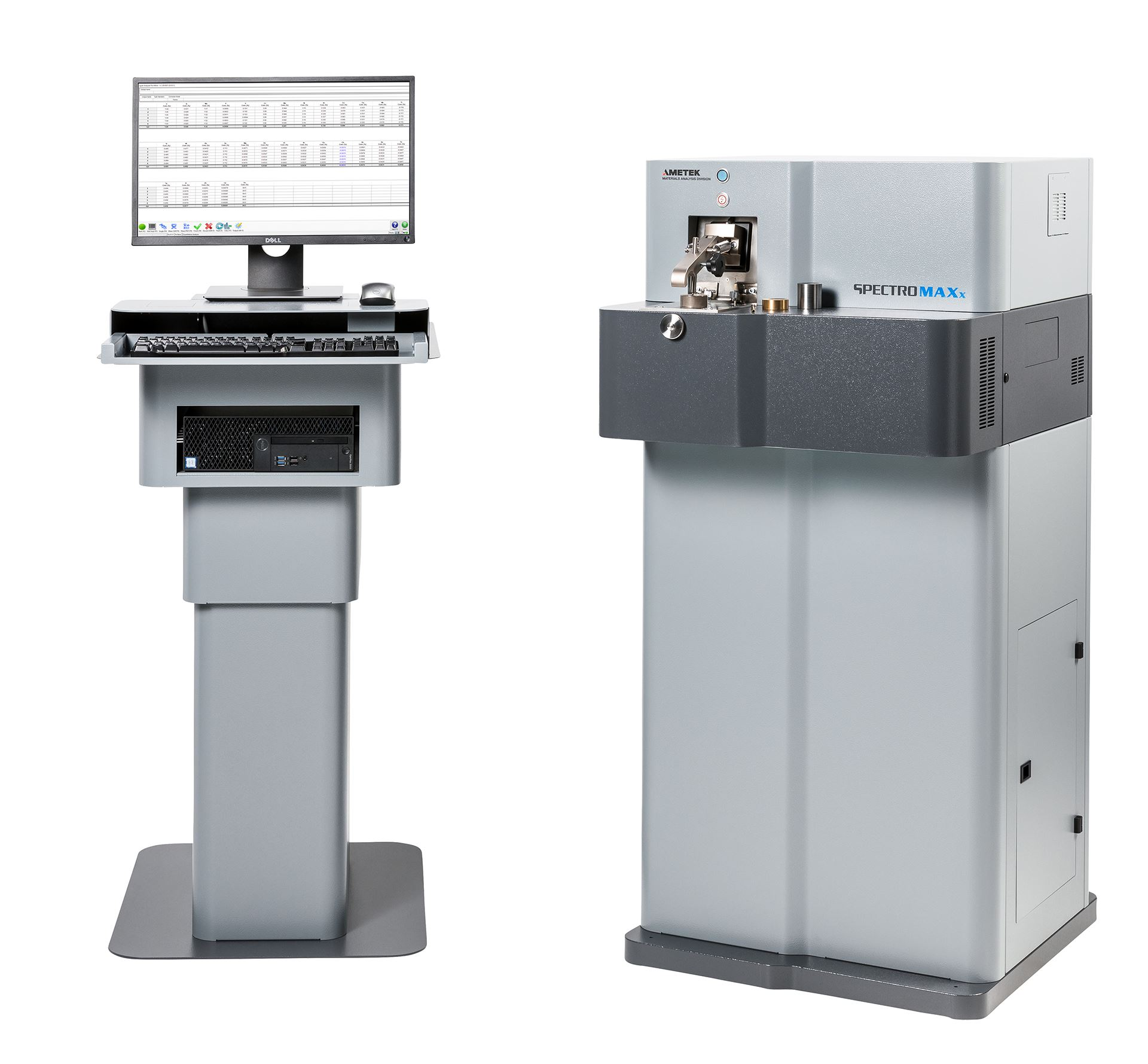 SPECTROMAXx-Funkenspektrometer mit iCAL 2.0