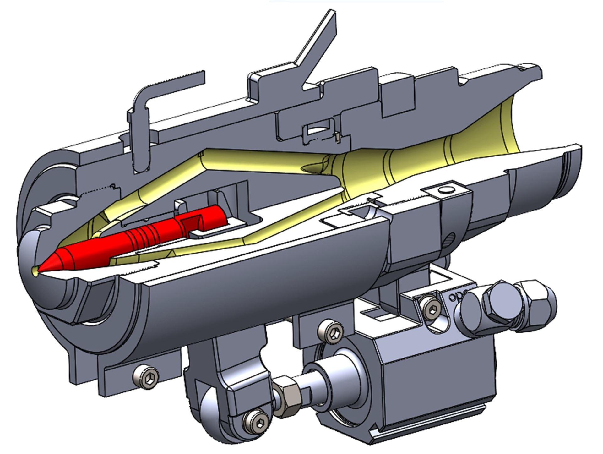 OFS-Nadelverschlussdüse Typ NVP