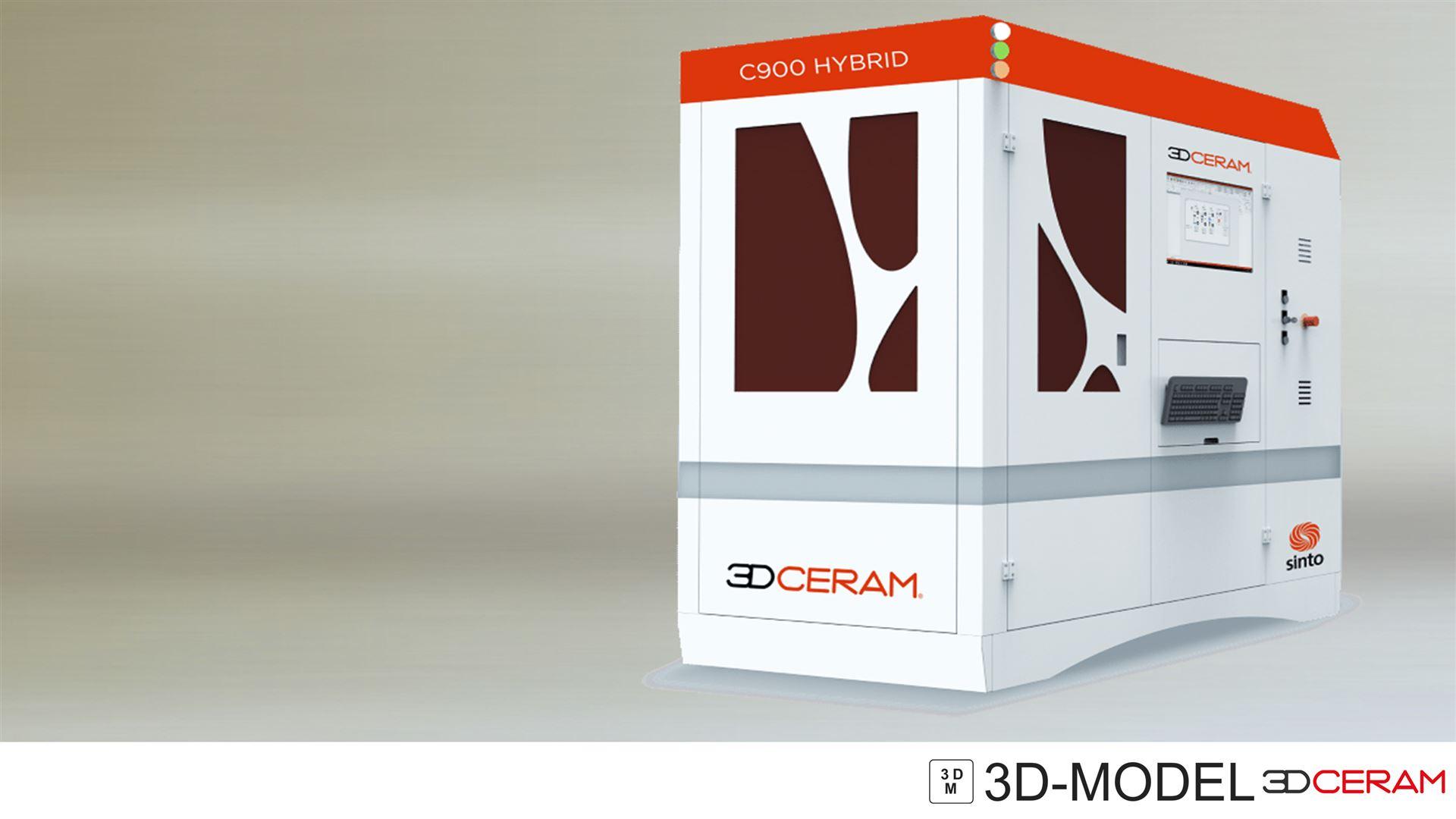 3DCERAM 3D-Drucker