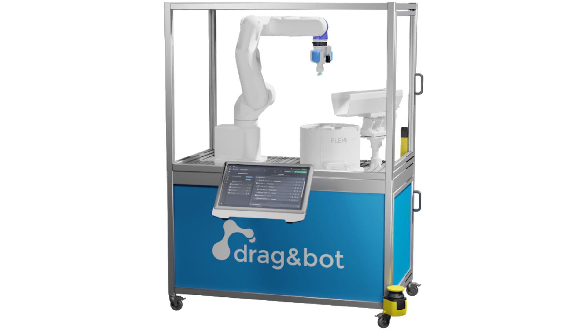 Der einfache Einstieg in die flexible Automatisierung mit dem drag&bot Robot-Kit