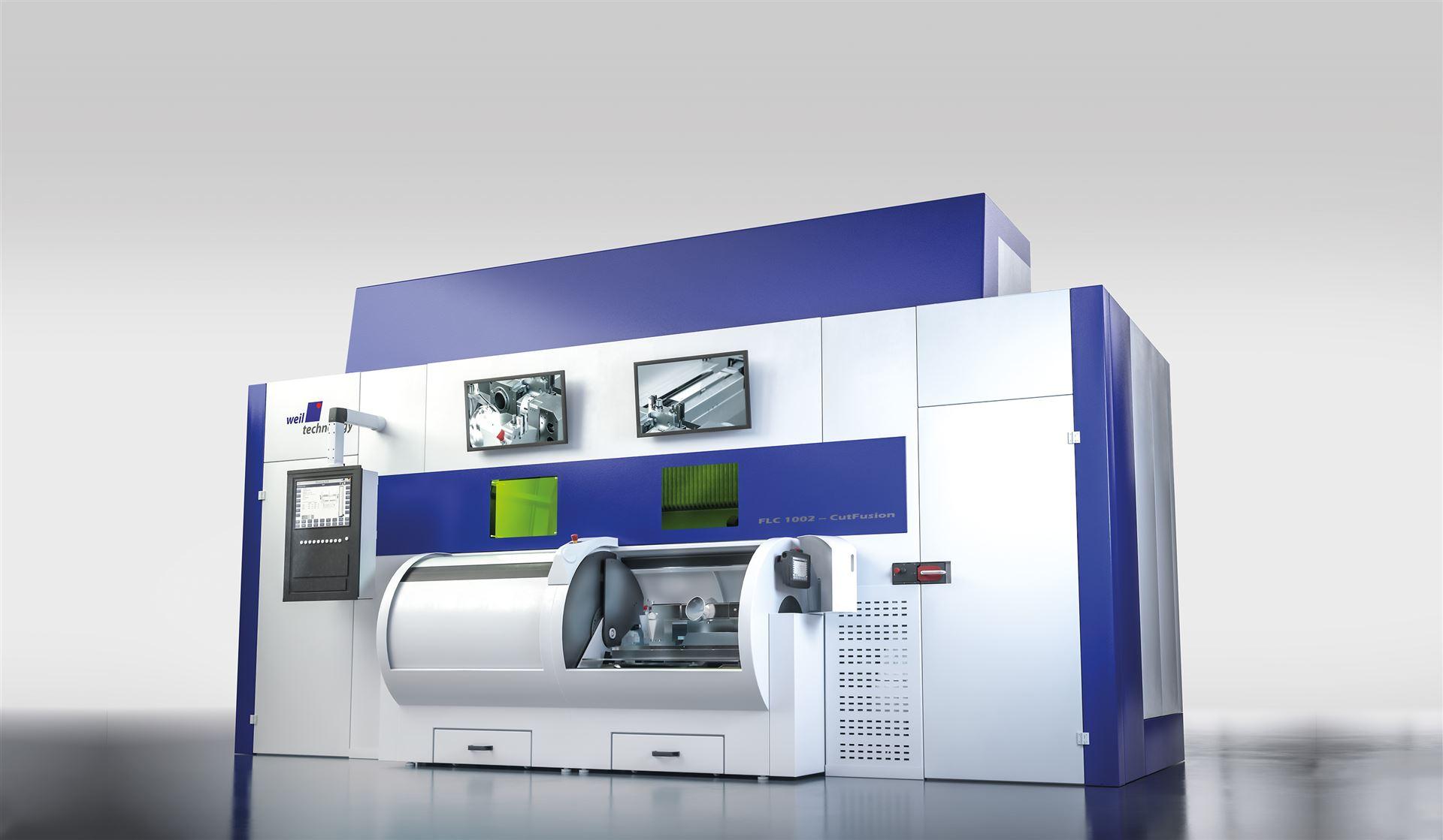 FLC: Simultanes Laserschneiden und -schweißen in einer Maschine