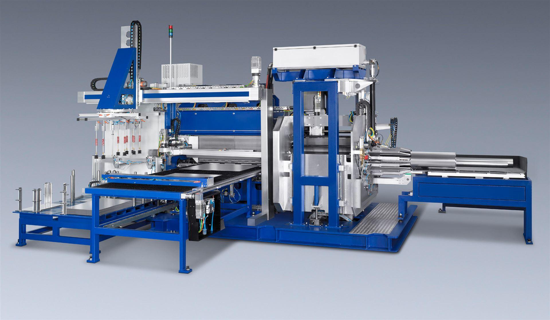 Flexistar: Innovative flexible Produktionsanlage zur Herstellung dünnwandiger  Qualitätsrohre