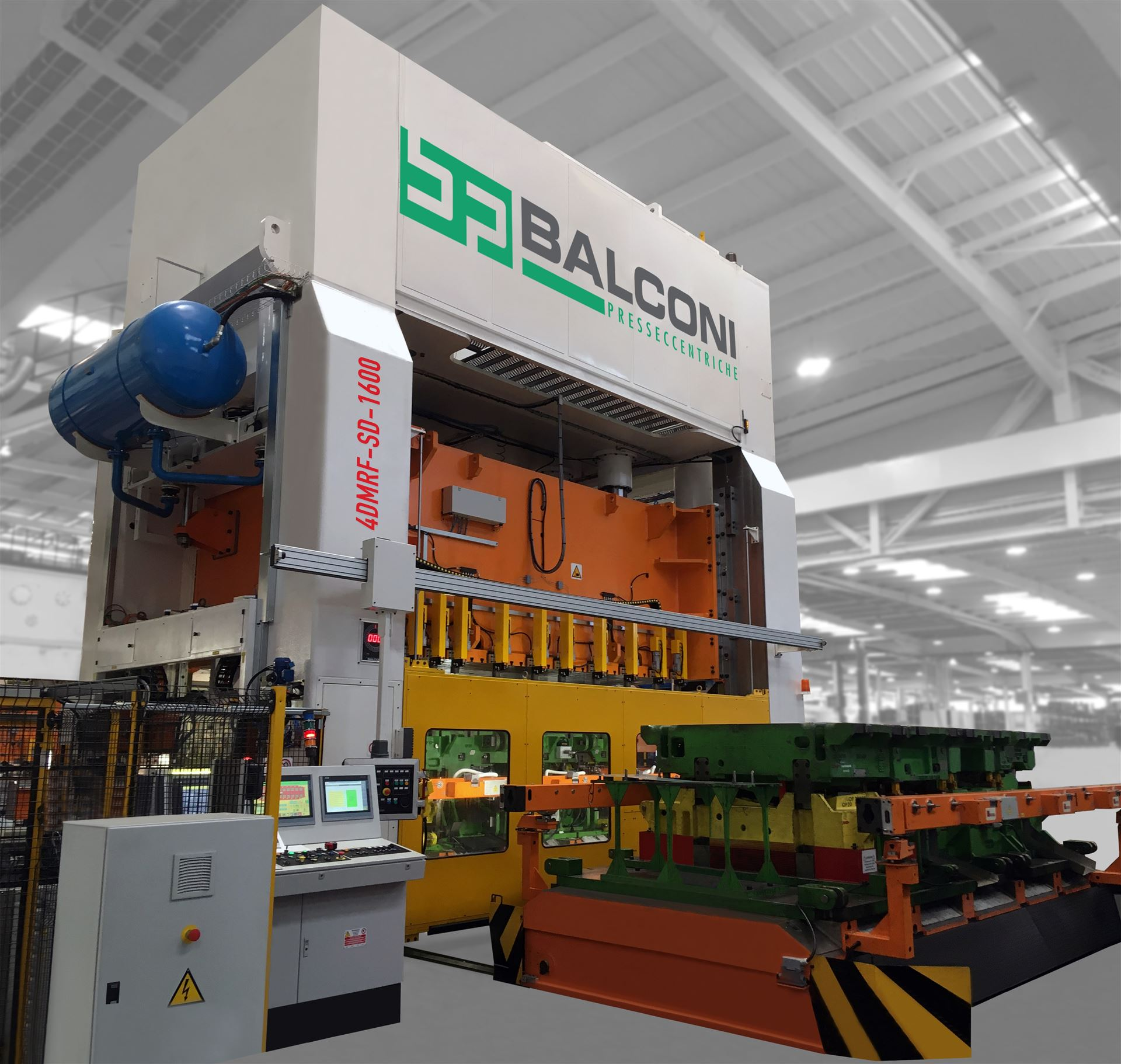 BALCONI SERVOPRESSE MODELL 4DMRF-SD-1600