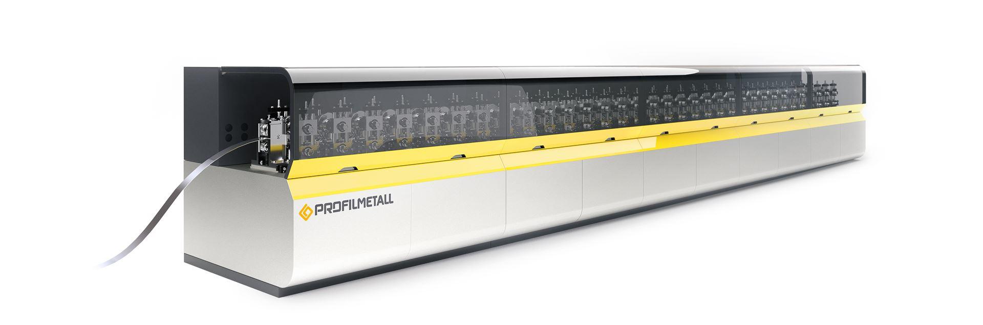 XELLAR Rollformanlage mit RFID-Lese- und Schreibgerät für schnellen Werkzeug Set-up