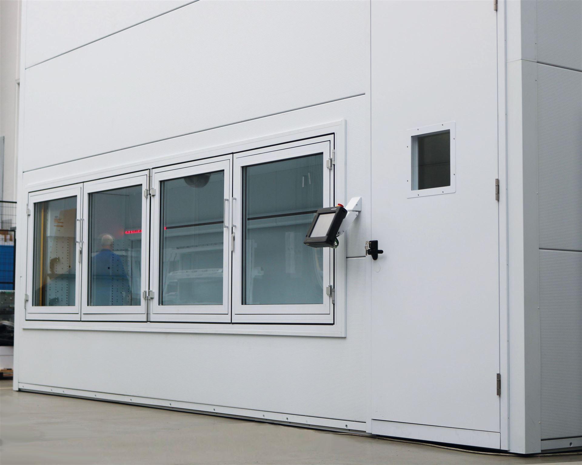 Modula Dry: Lager mit niedriger Luftfeuchtigkeit (Dry Room).