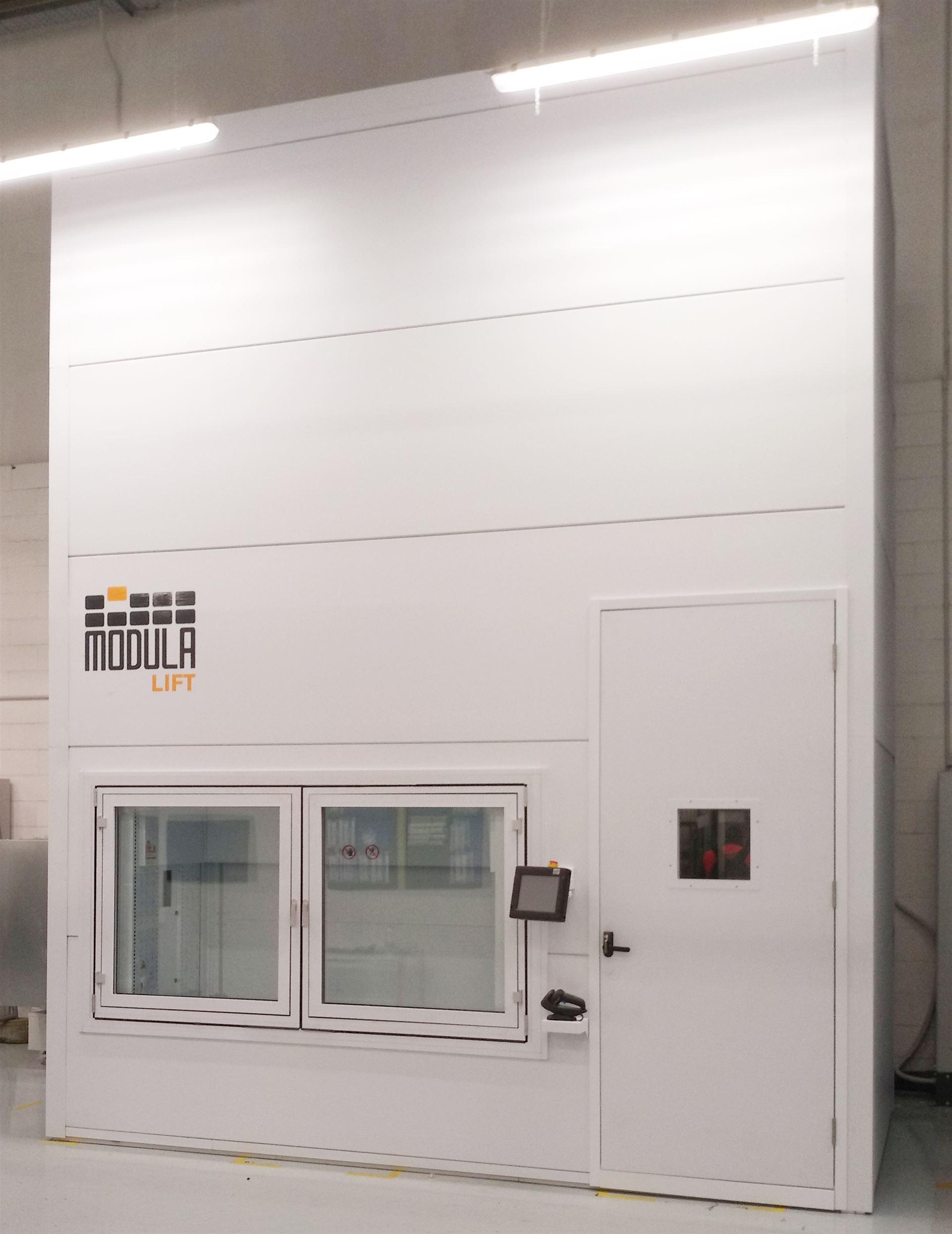 Modula Climate Control: Temperatur- und feuchtigkeitsgeregelte Lager.