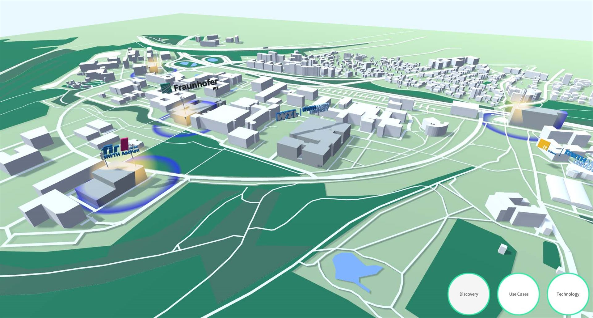 5G-Industry Campus Europe – interaktive Online-App