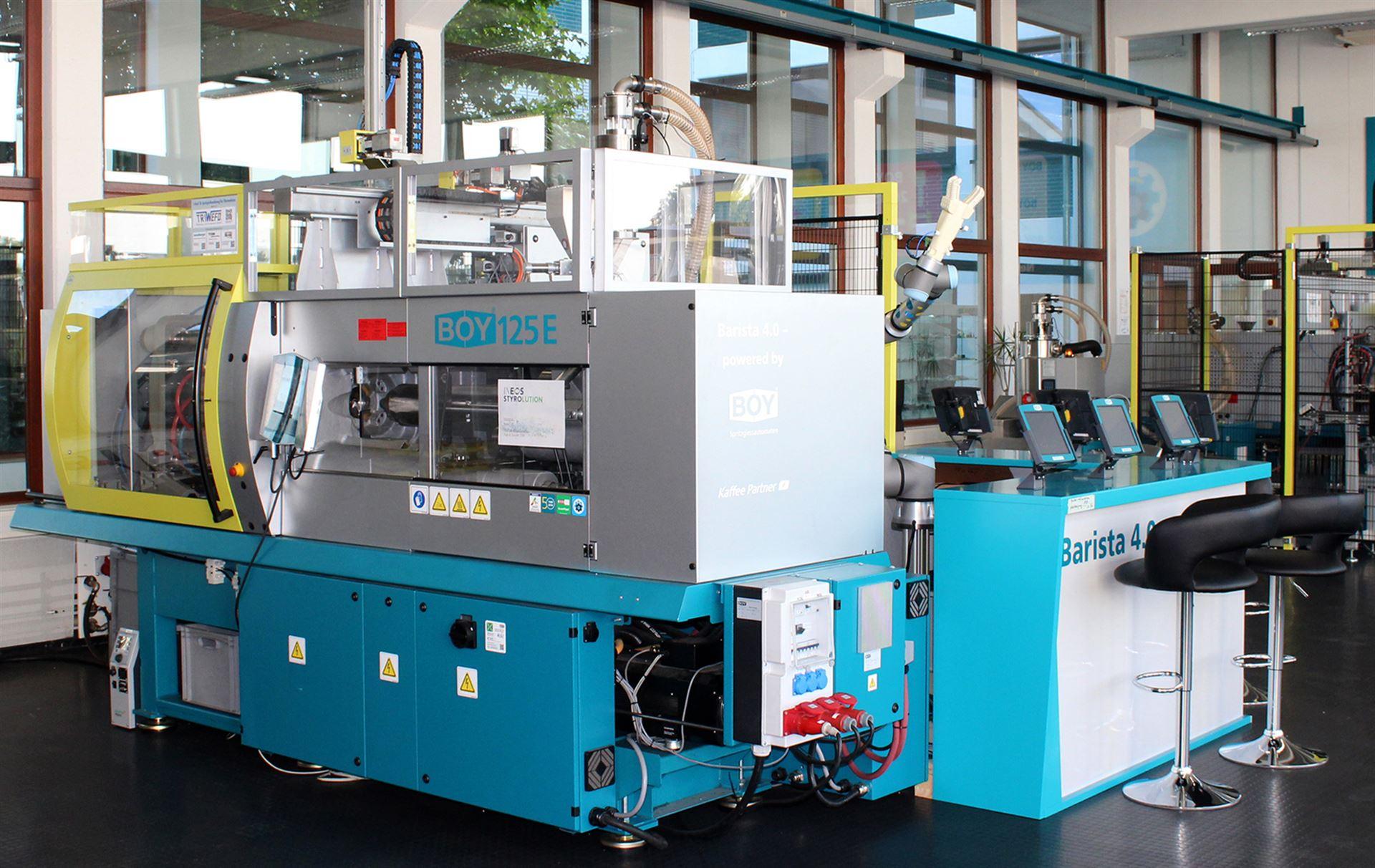 BOY 125 E - Complex production line Barista 4.0
