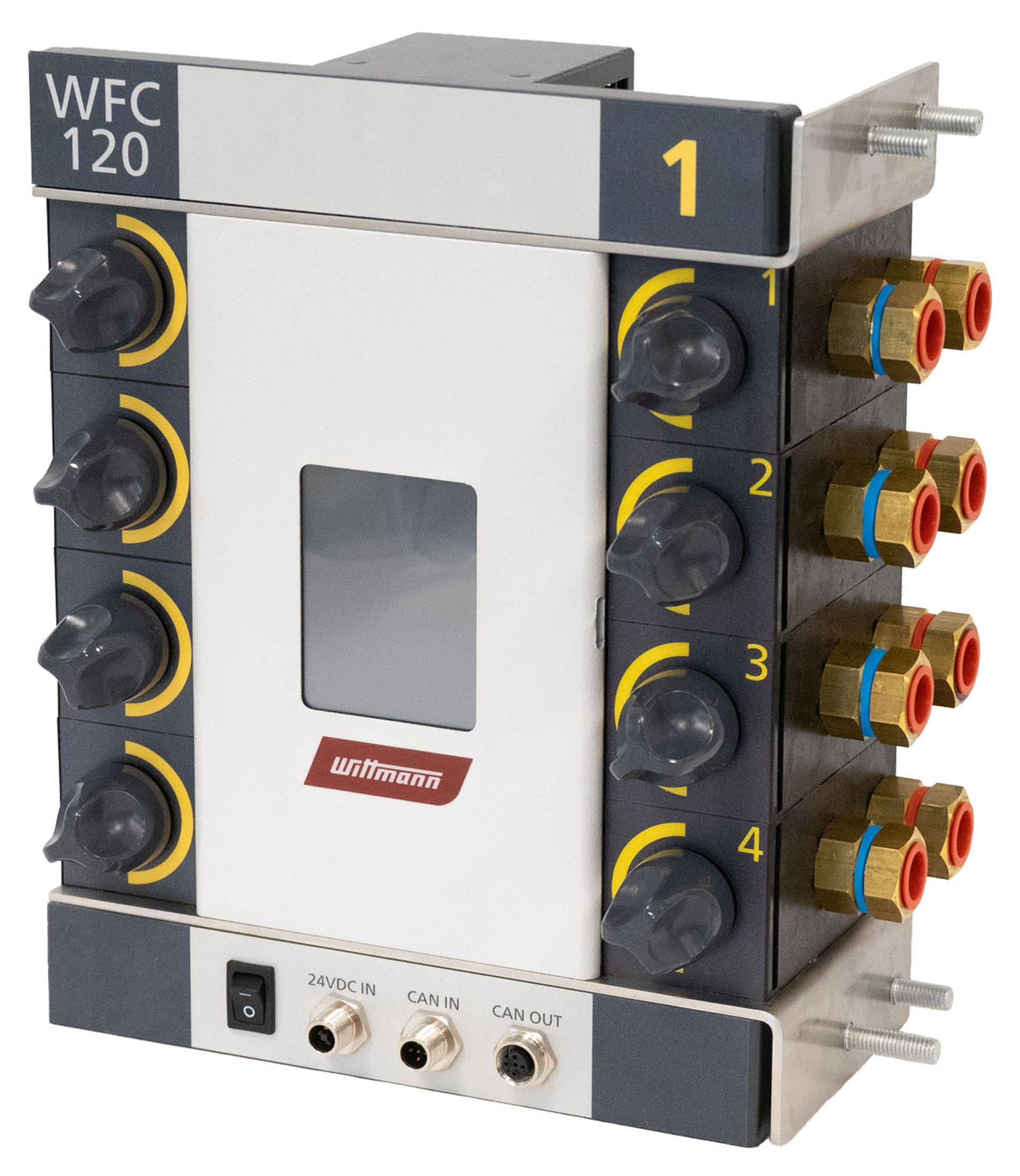 WFC 120, the digital water distributor of the next generation