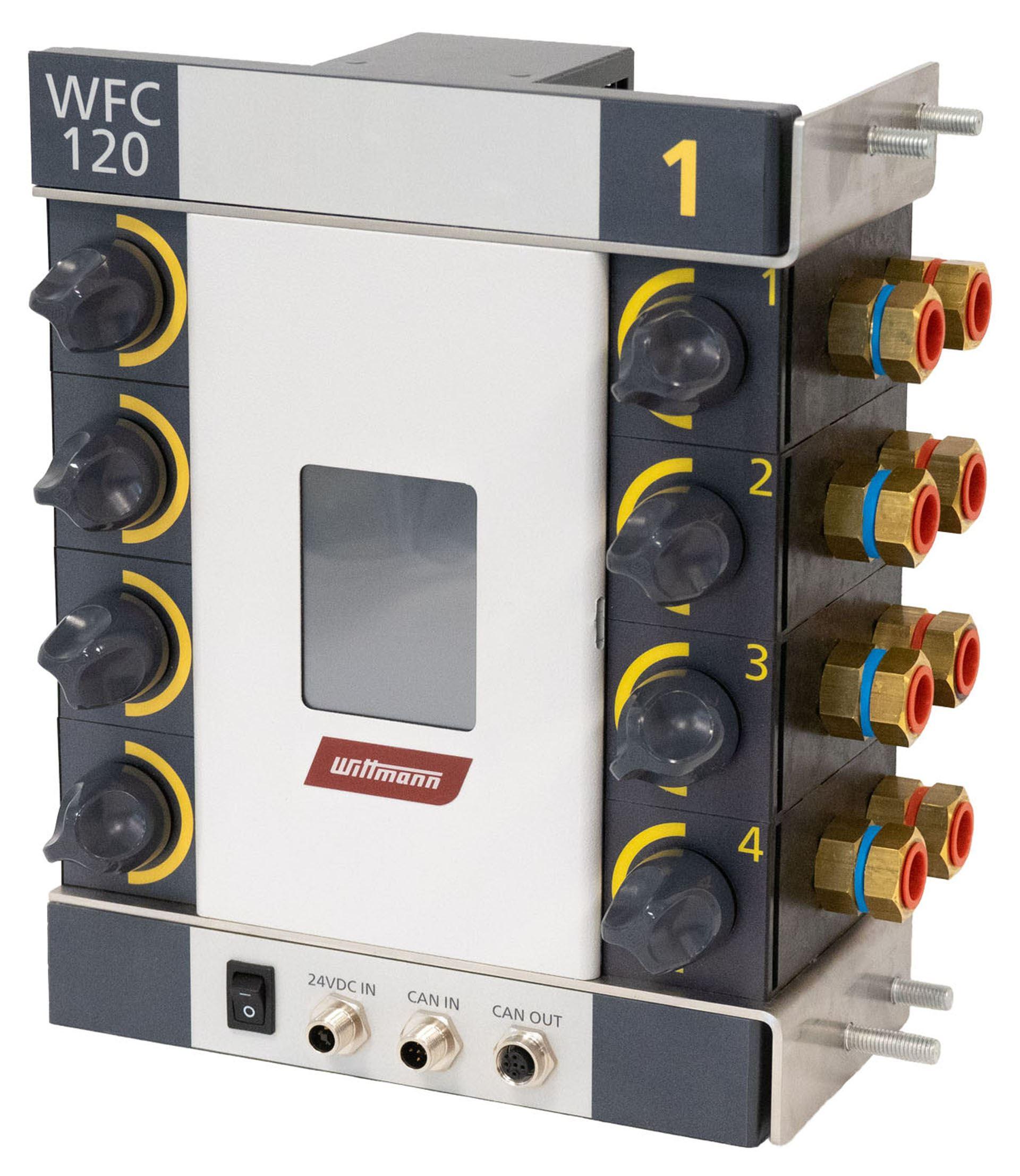 WFC 120, der digitale Wasserverteiler der nächsten Generation