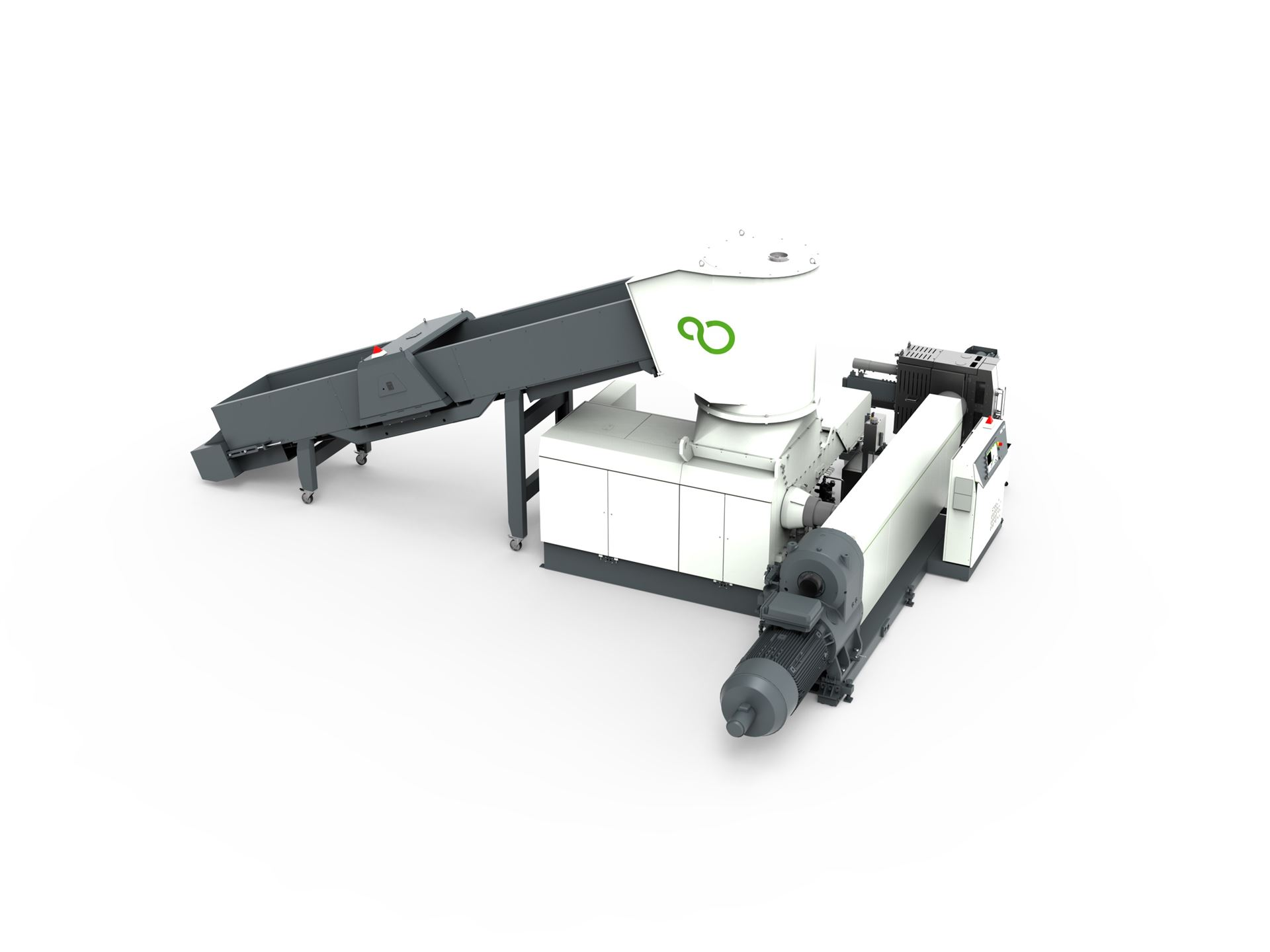 PURE LOOP presents a new shredder-extruder combination for high throughputs