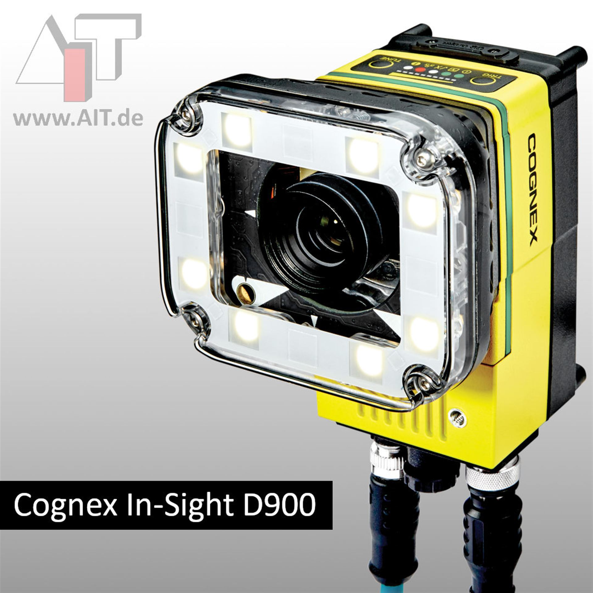 Cognex In-Sight D900 - Deep Learning auf einer Smart Kamera