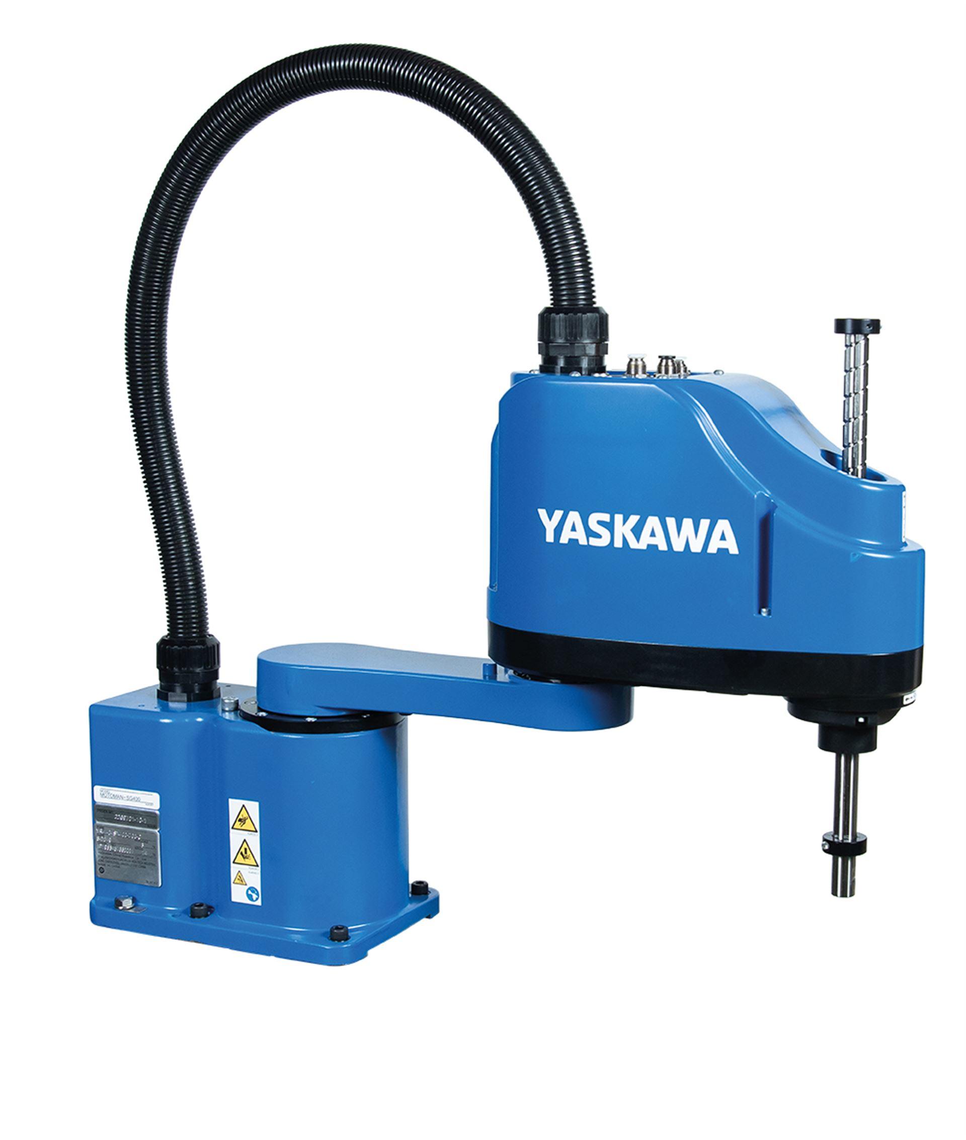 Blitzschnelle Scara-Roboter MOTOMAN SG400 und MOTOMAN SG650 von Yaskawa