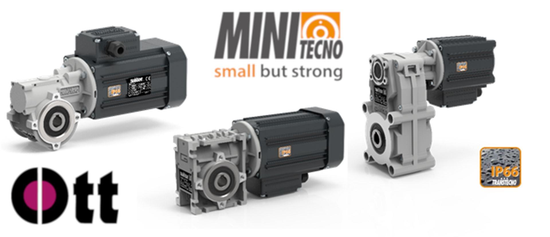miniTecno - High-Tech Antriebe mit Schutzklasse IP66