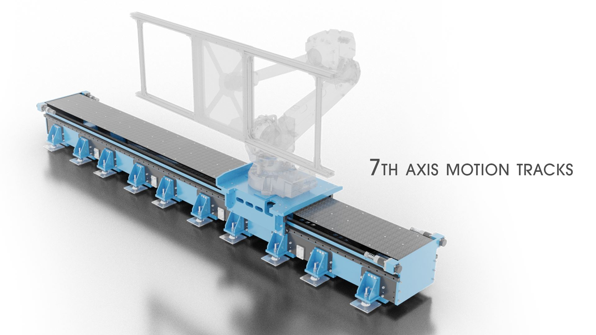 Seventh axis motion track