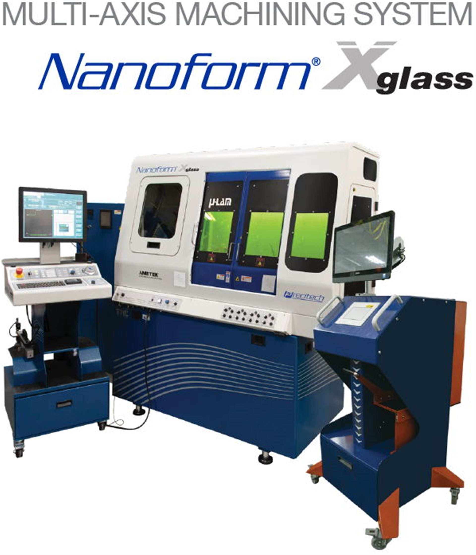 Ultrapräzisions-Diamantdrehmaschine Nanoform Xglass