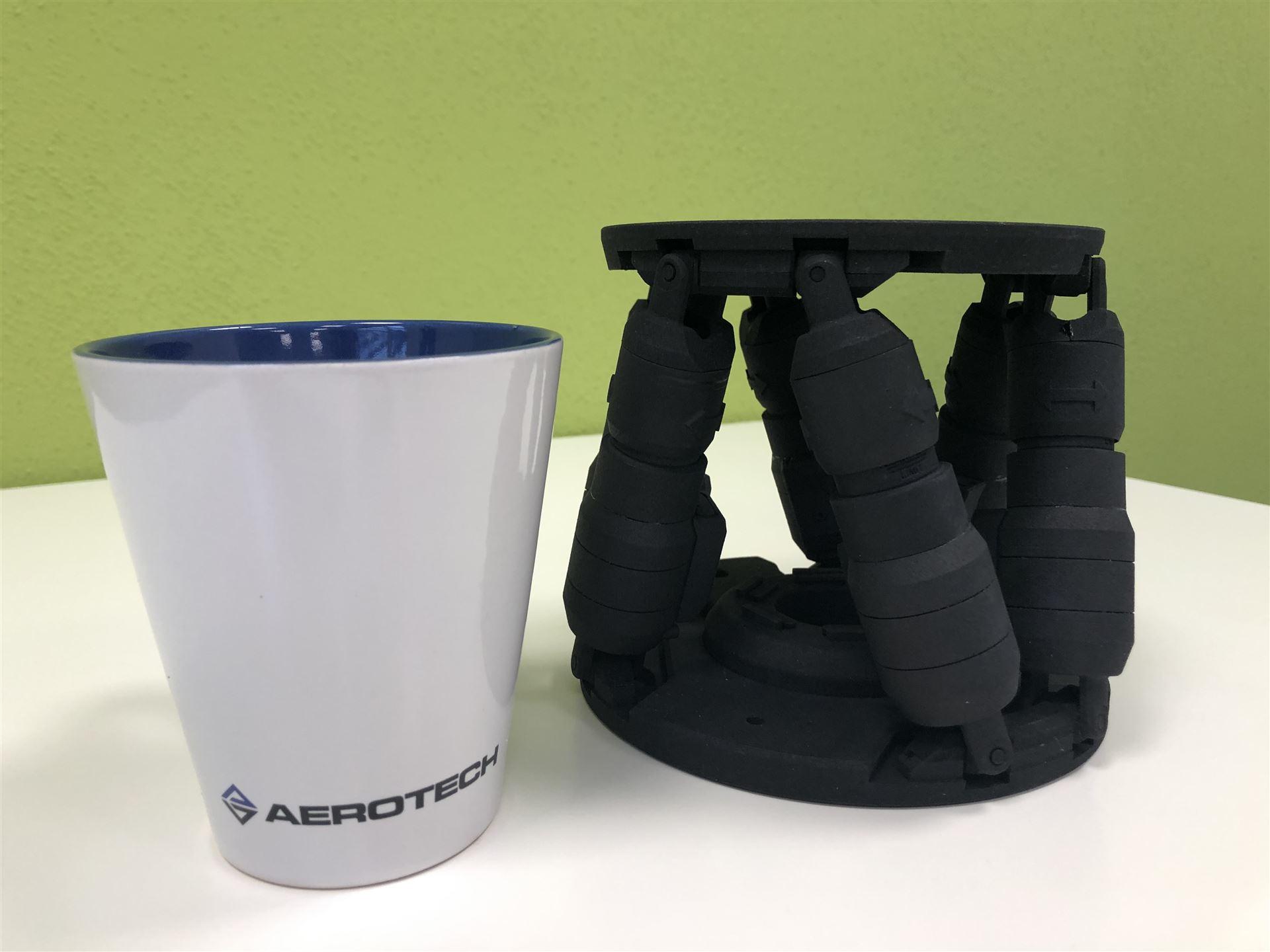 Neuer HEX150 Hexapod von Aerotech besticht durch seine hervorragende Präzisionsmechanik