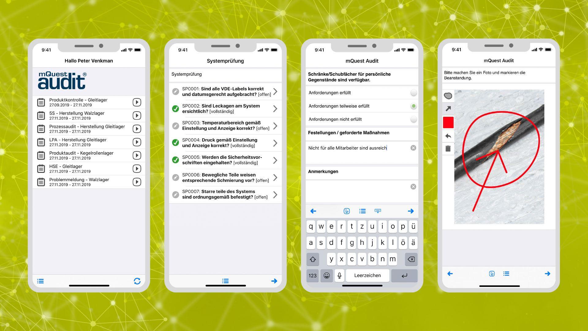 mQuest® Audit App
