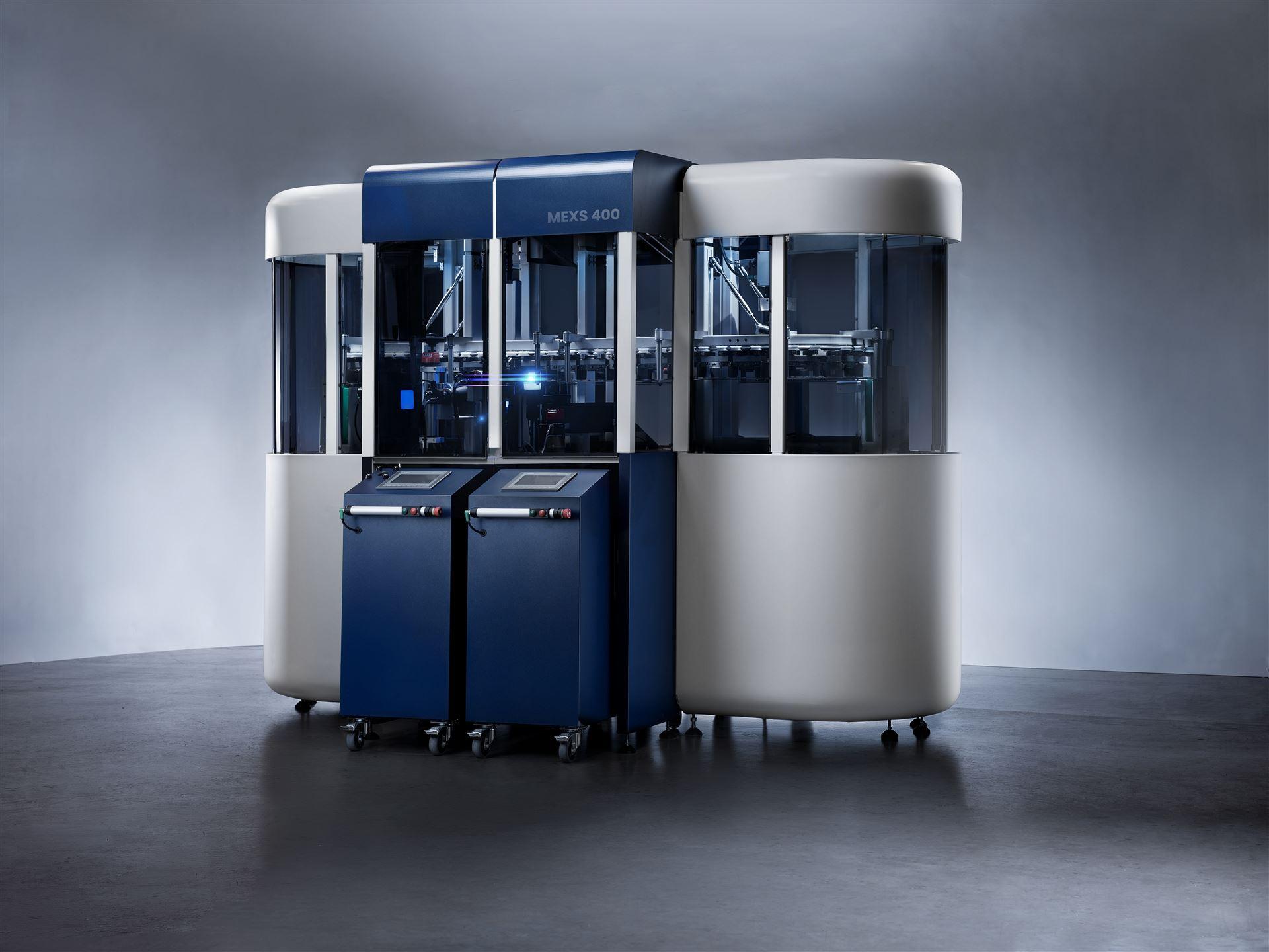 Weltneuheit MEXS 400: LAW NDT präsentiert die erste modulare Prüfanlage zur 100%-Qualitätssicherung