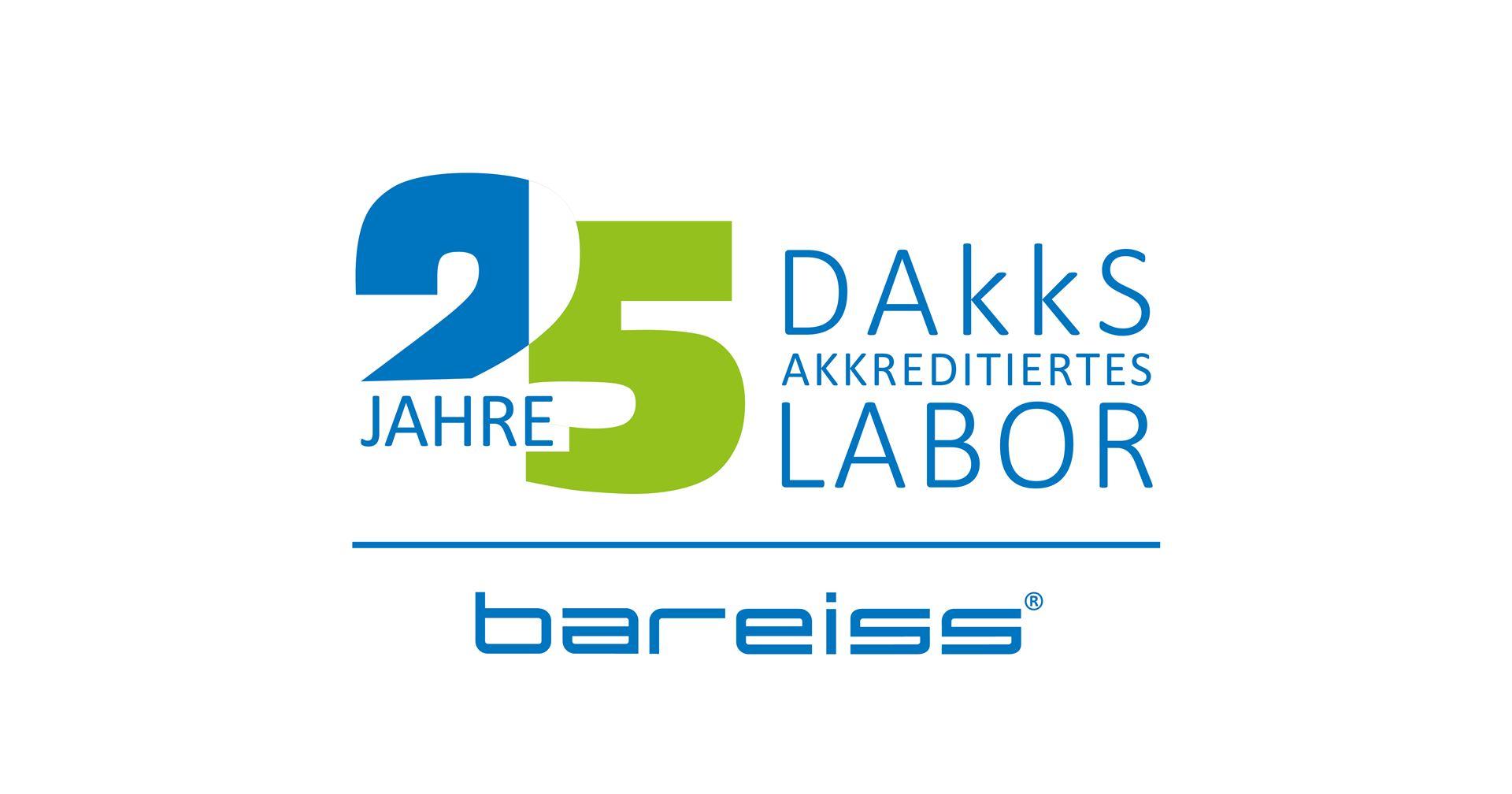 25 years DAkkS accredited laboratory